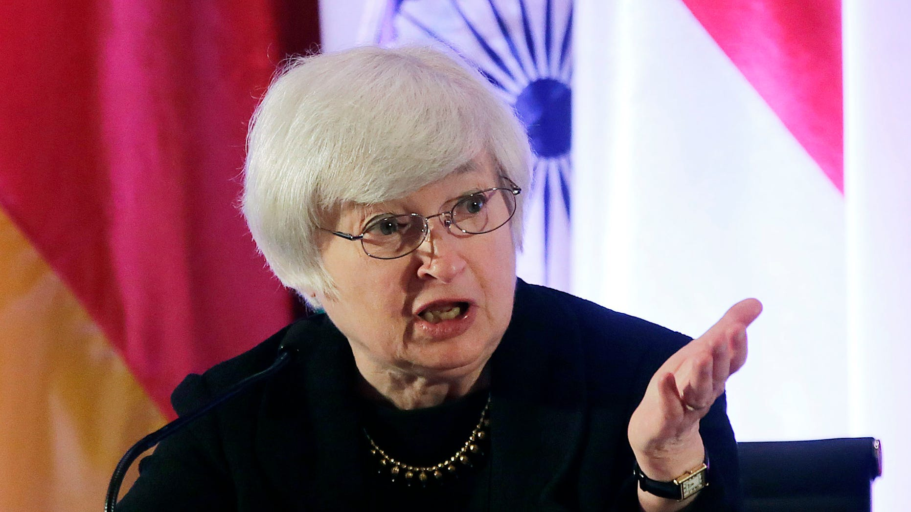 Janet Yellen, vice chair of the Board of Governors of the Federal Reserve System,  on June 3, 2013.