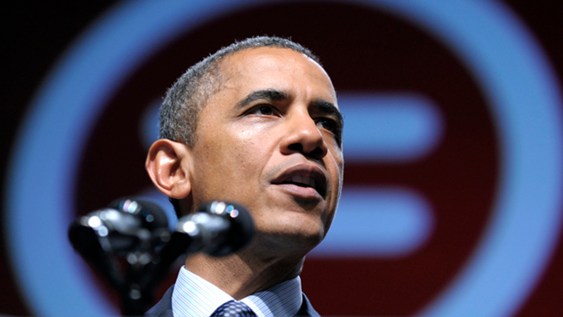 July 25, 2012: President Obama addresses the National Urban League convention in New Orleans.