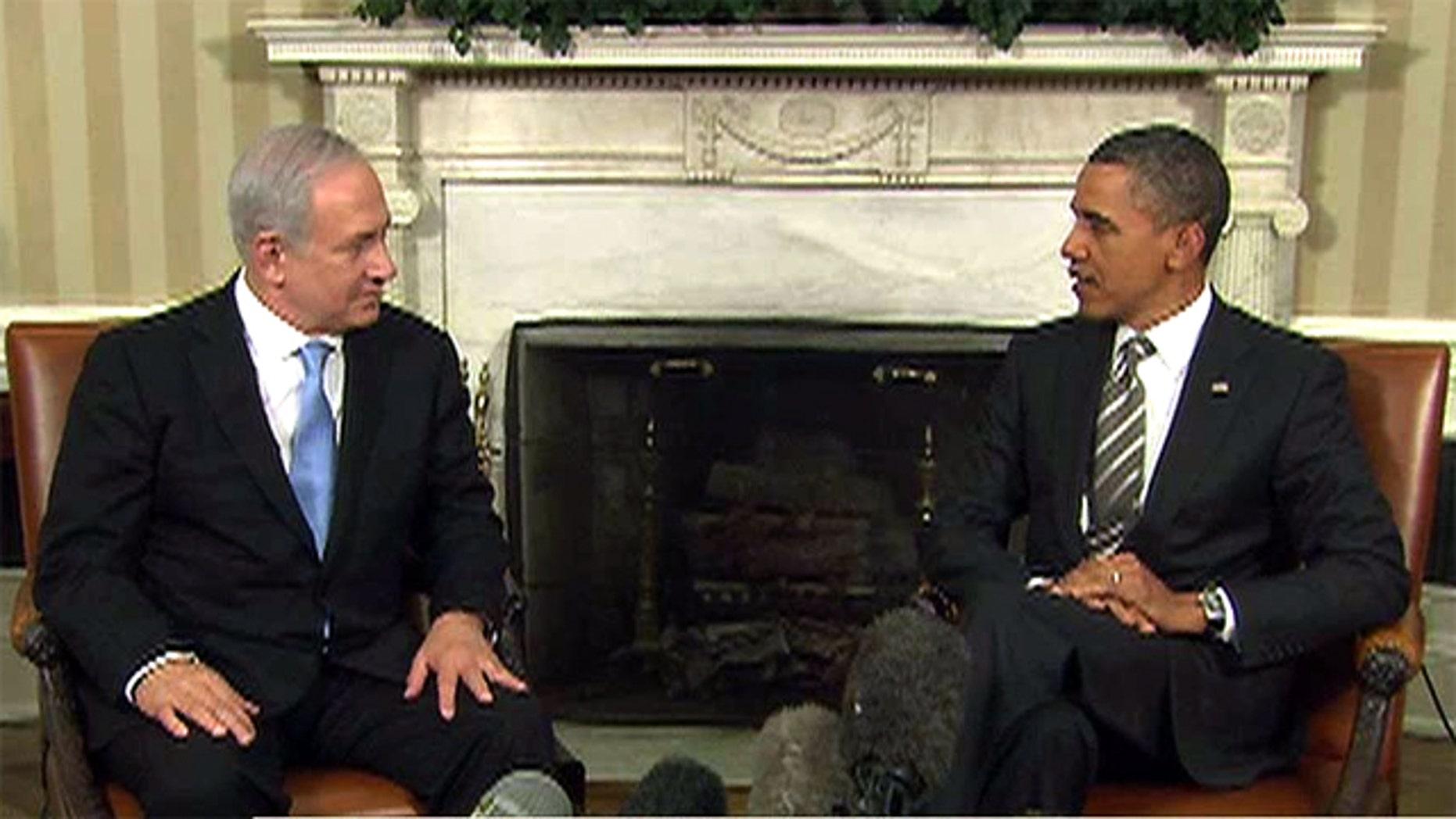 Friday: President Obama and Israeli Prime Minister Benjamin Netanyahu meet at the White House.