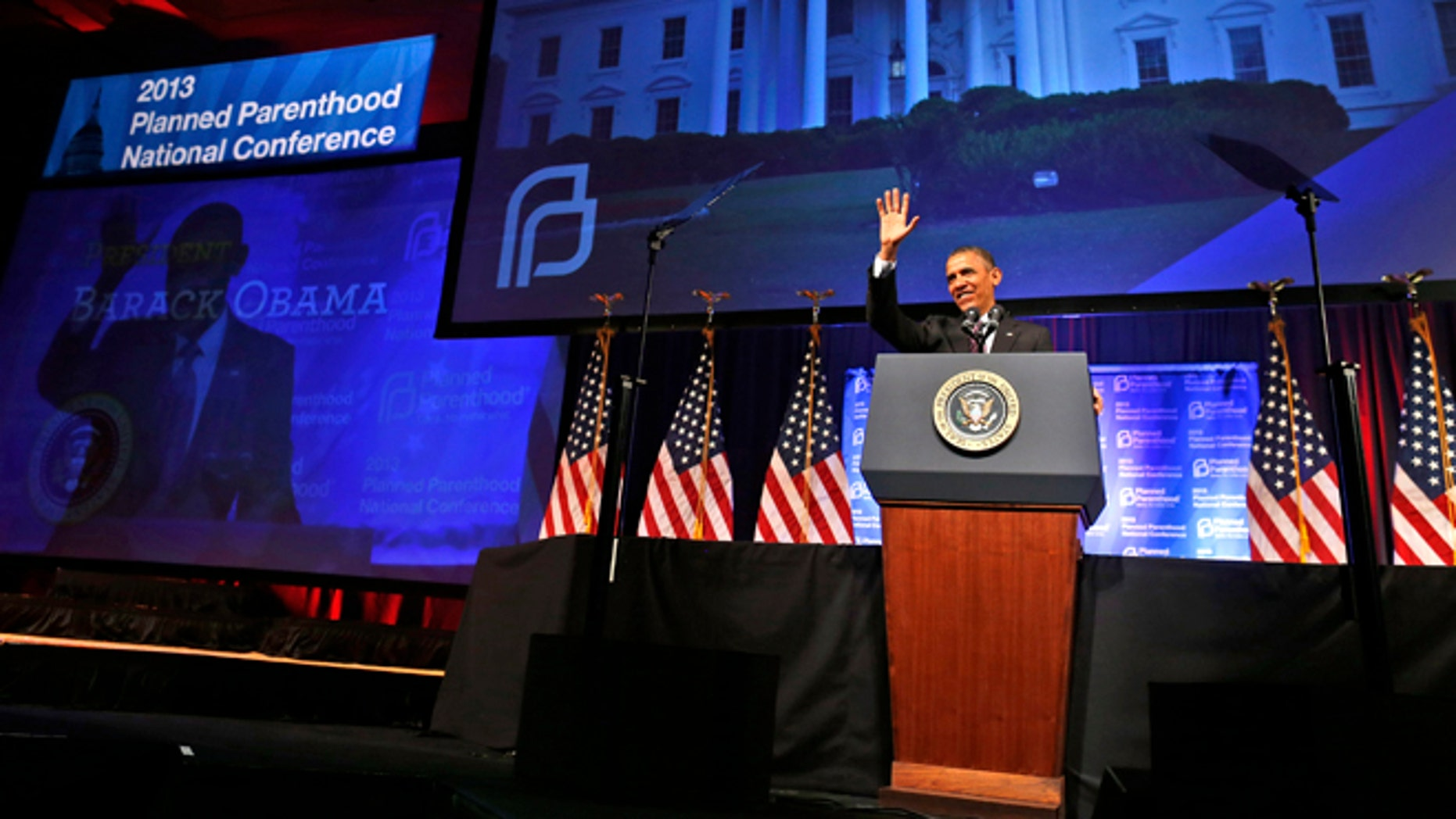 April 26, 2013: President Obama speaks at the 2013 Planned Parenthood National Conference in Washington.