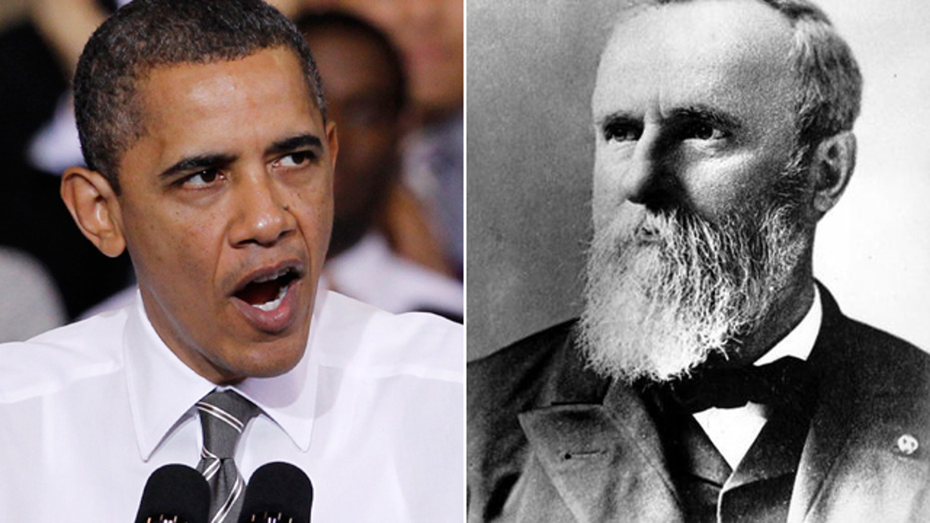 President Obama wasn't too kind to one of his GOP predecessors, President Rutherford B. Hayes.