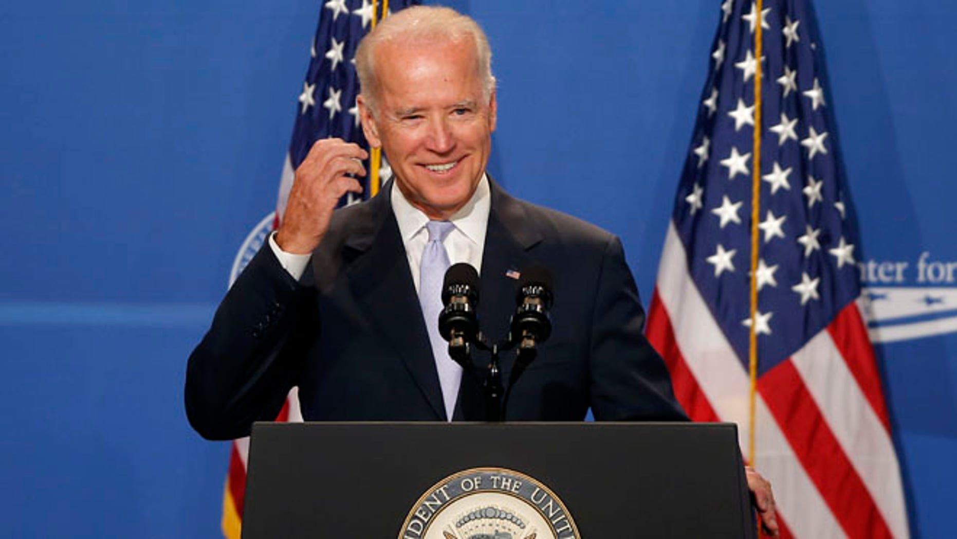 Vice President Joe Biden speaks at The White House Summit on Working Families, Monday, June 23, 2014, in Washington.