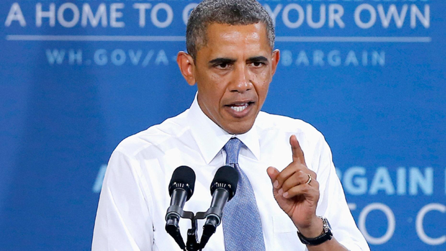 Aug 6, 2013: President Barack Obama speaks about housing in Phoenix.