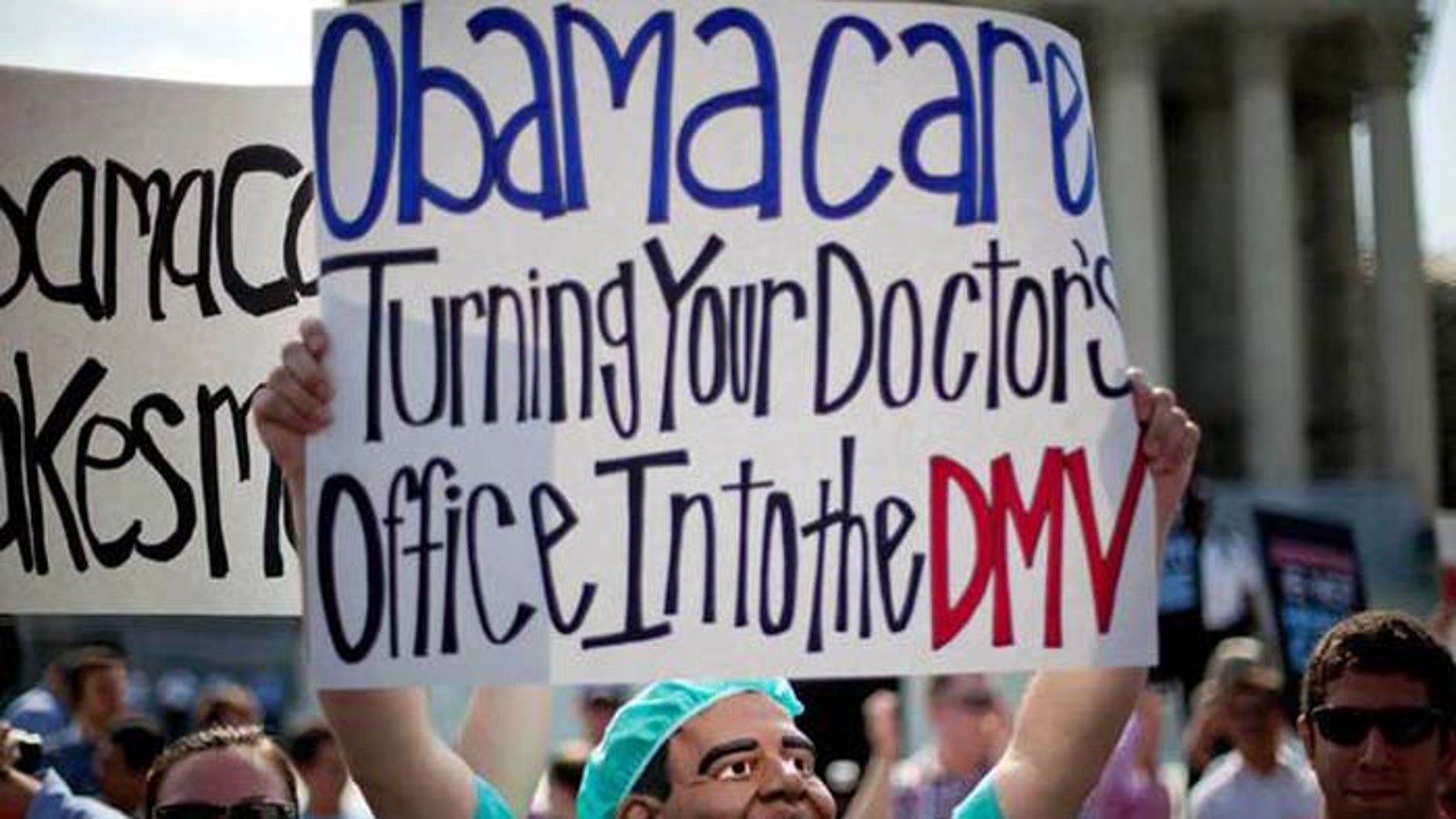 A short-term alternative to President Obama's controversial health care plan could rob exchanges of the healthiest customers. (AP)
