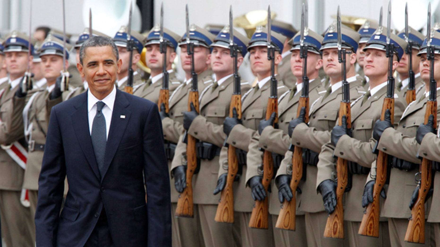 FILE: May 28, 2011: President Obama at the presidential palace in Warsaw, Poland.