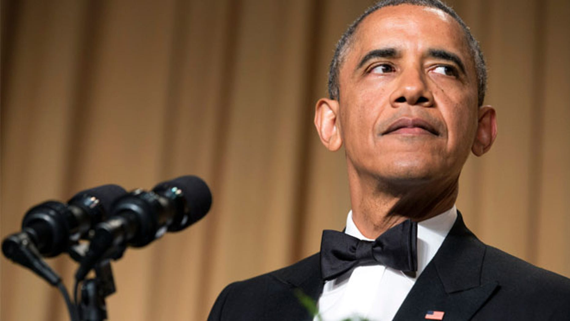President Barack Obama's jokes targeted Donald Trump at the White House Correspondents' Association dinner in 2011.