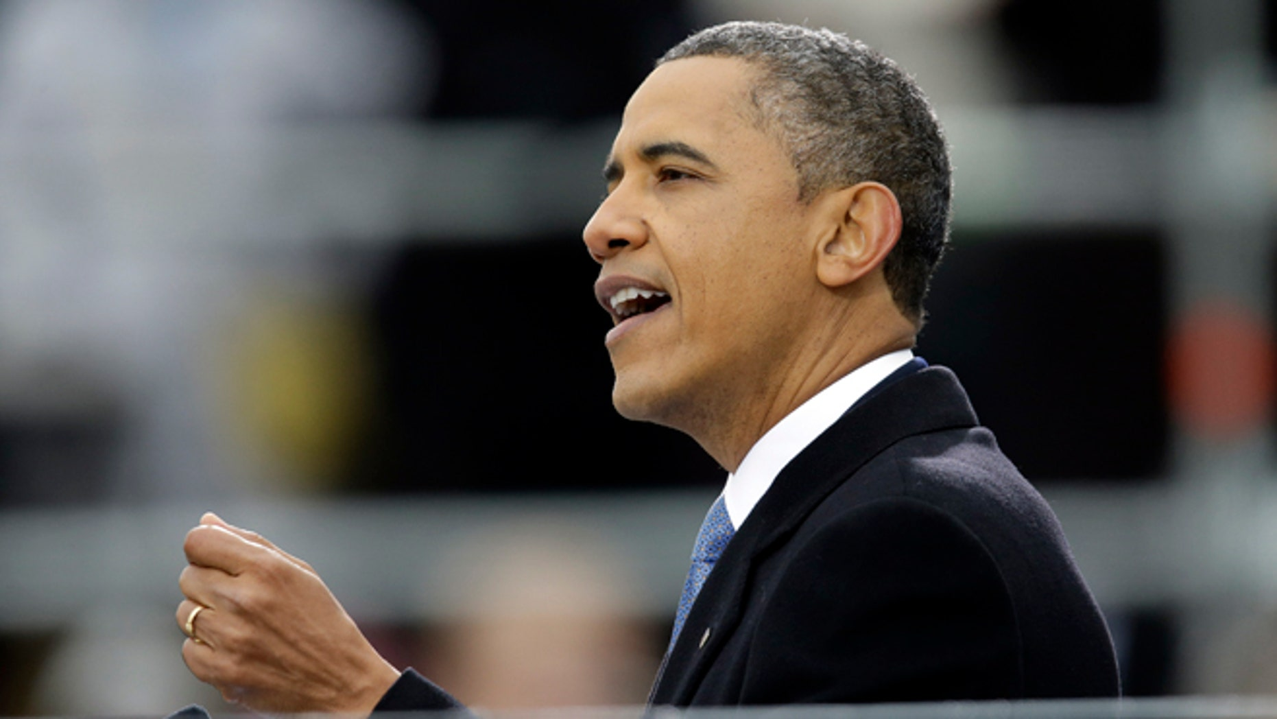 FILE: Jan. 21, 2013: President Obama starts in second term at the ceremonial swearing-in at the U.S. Capitol in Washington, D.C.