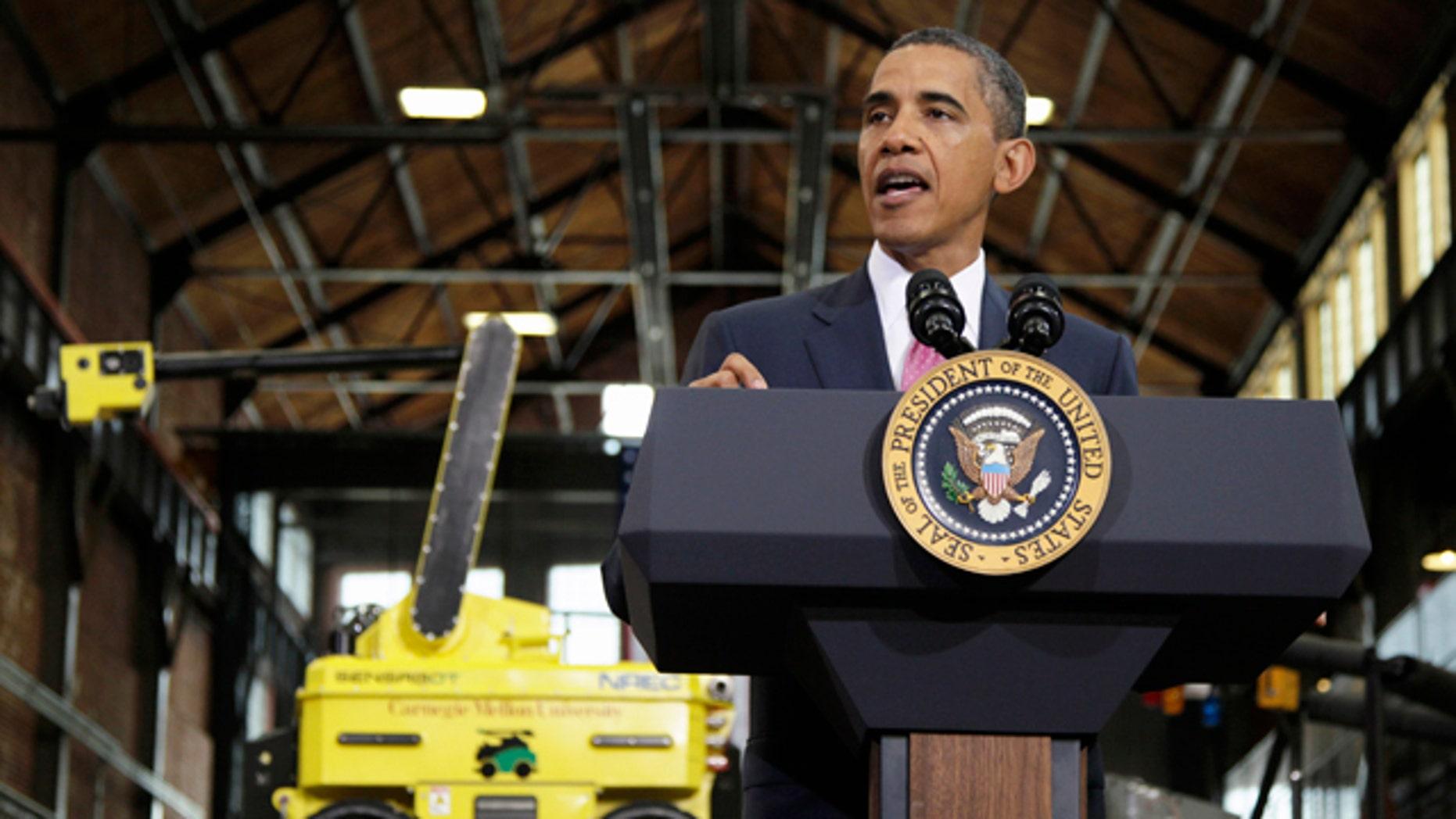 June 24: President Barack Obama speaks at Carnegie Mellon University in Pittsburgh.