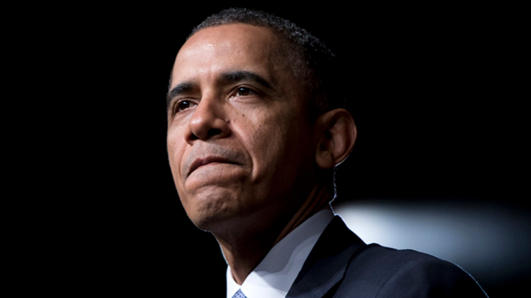 FILE: April 10, 2014: President Obama at the LBJ Presidential Library,  in Austin, Texas.