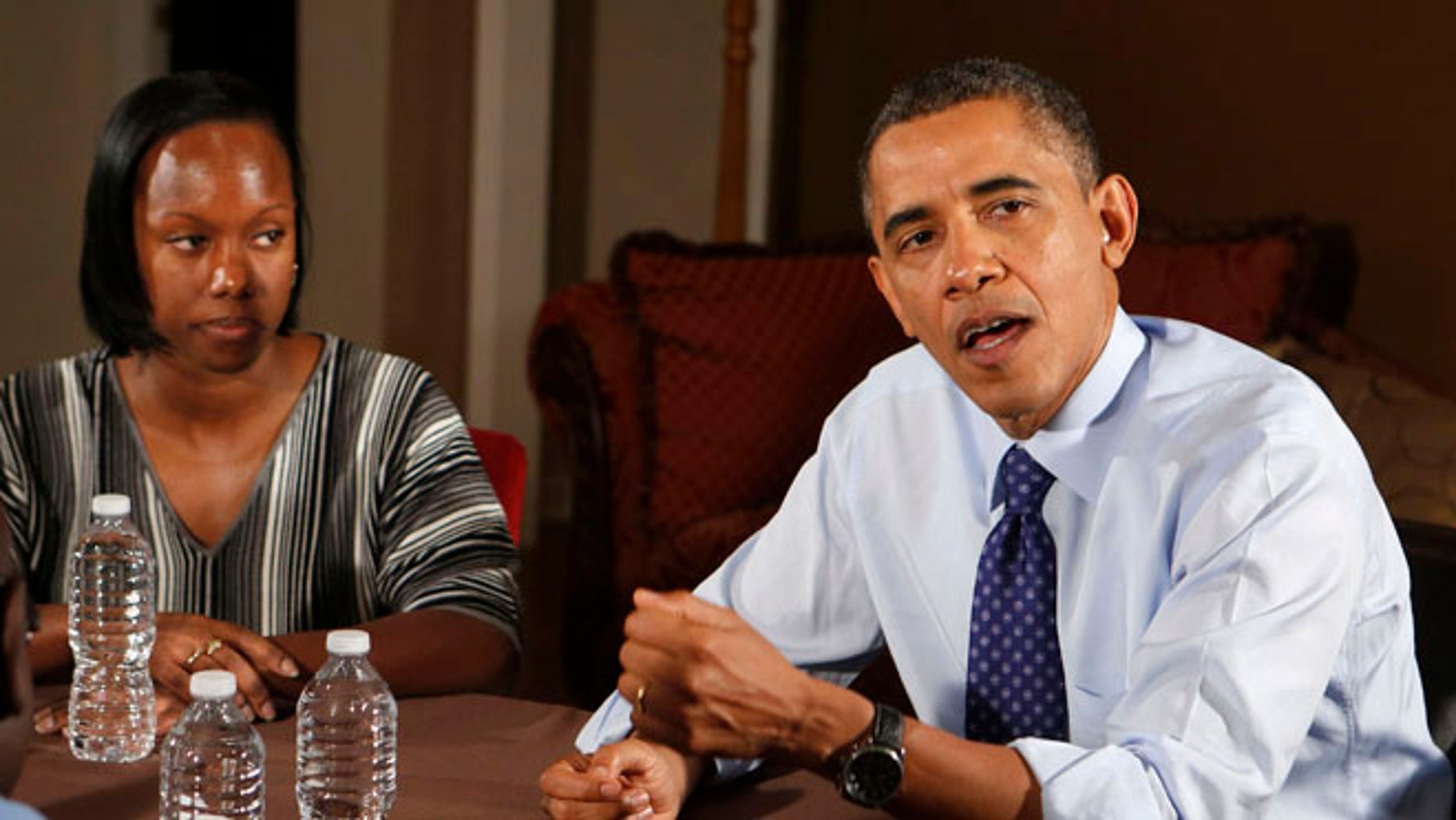 Dec. 6: President Obama visits members of middle class families to discuss his administration's tax push.