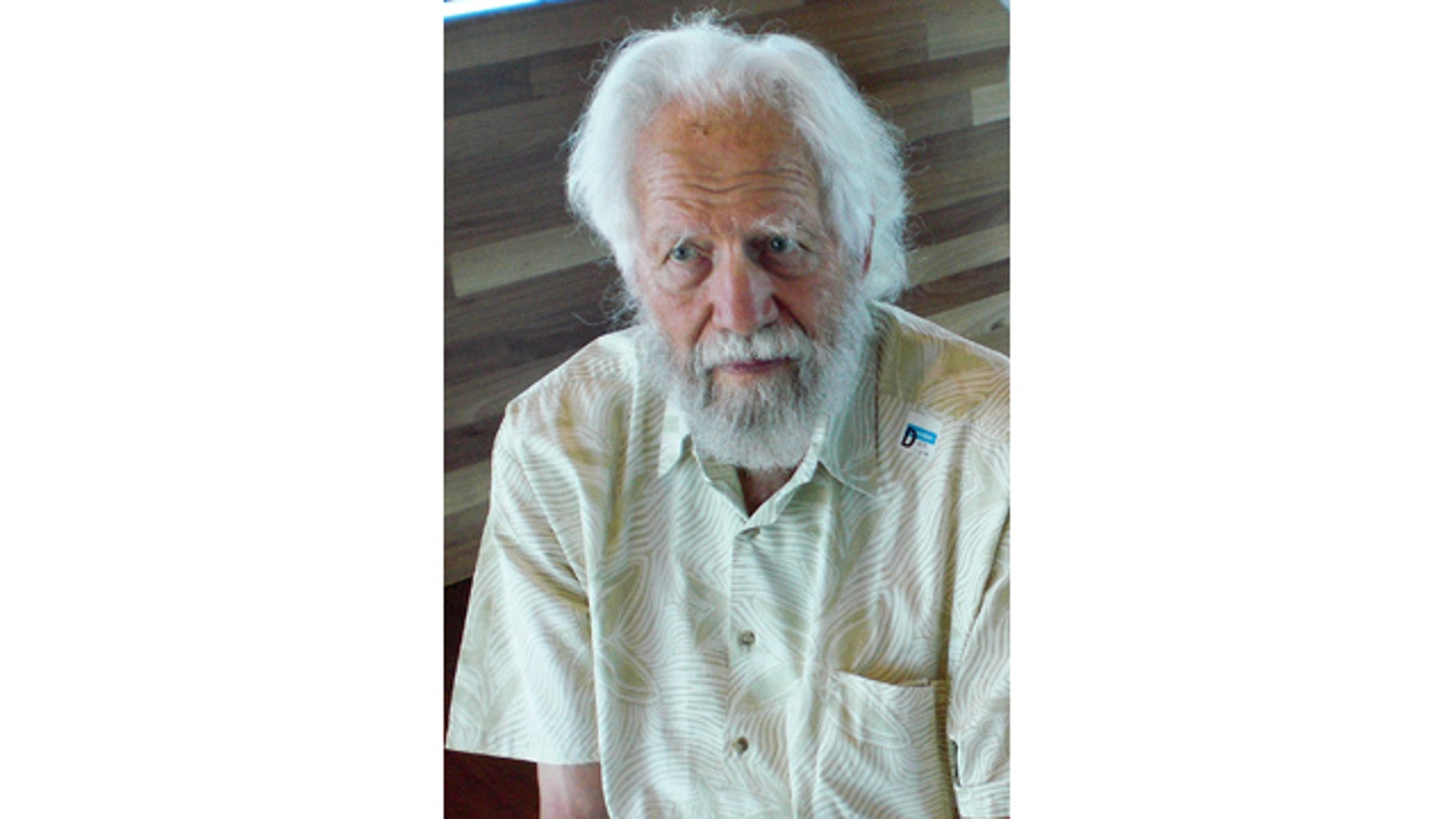 September 6, 2008: This photo released by Greg Manning shows Alexander Shulgin in San Francisco. Shulgin, a respected chemist famed for dusting off a decades-old recipe for the psychedelic drug ecstasy, died Monday, June 3, 2014, at his Northern California home. He was 88. (AP Photo/Greg Manning)