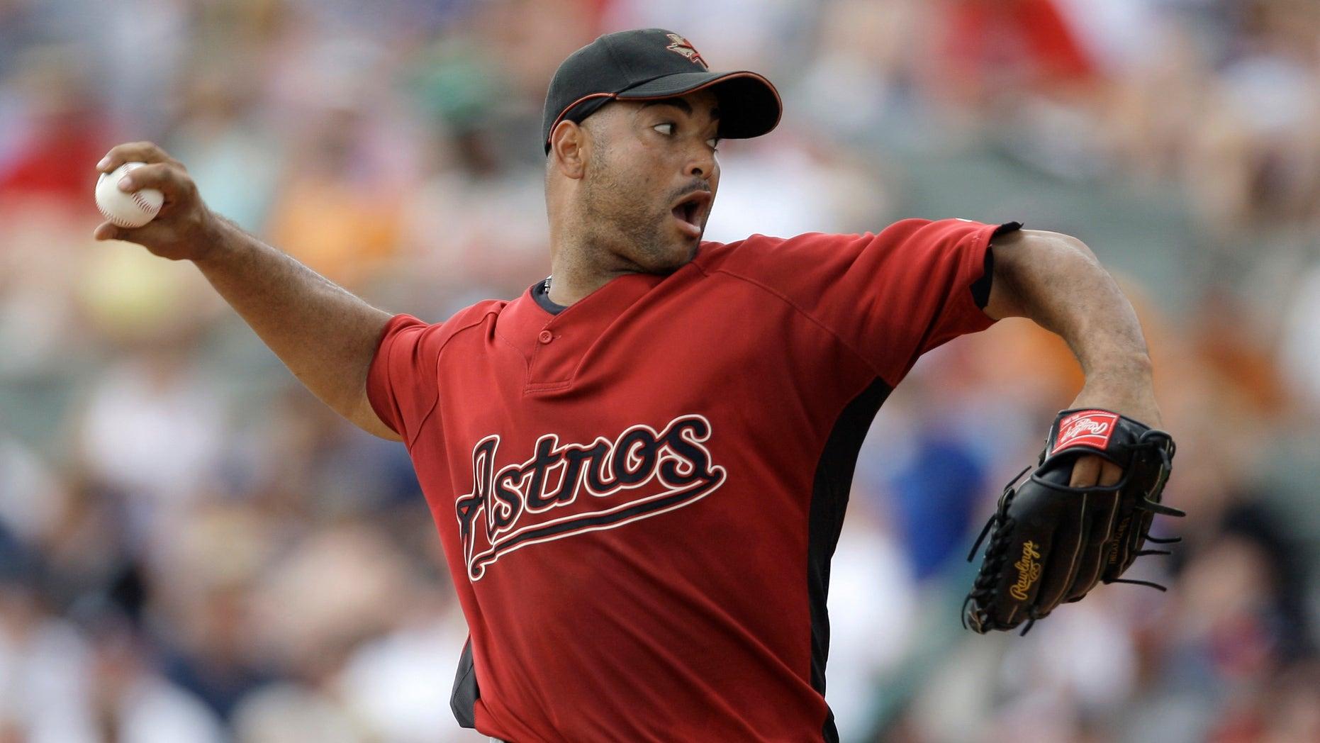 Jose Capellan in a March 15, 2009 file photo.