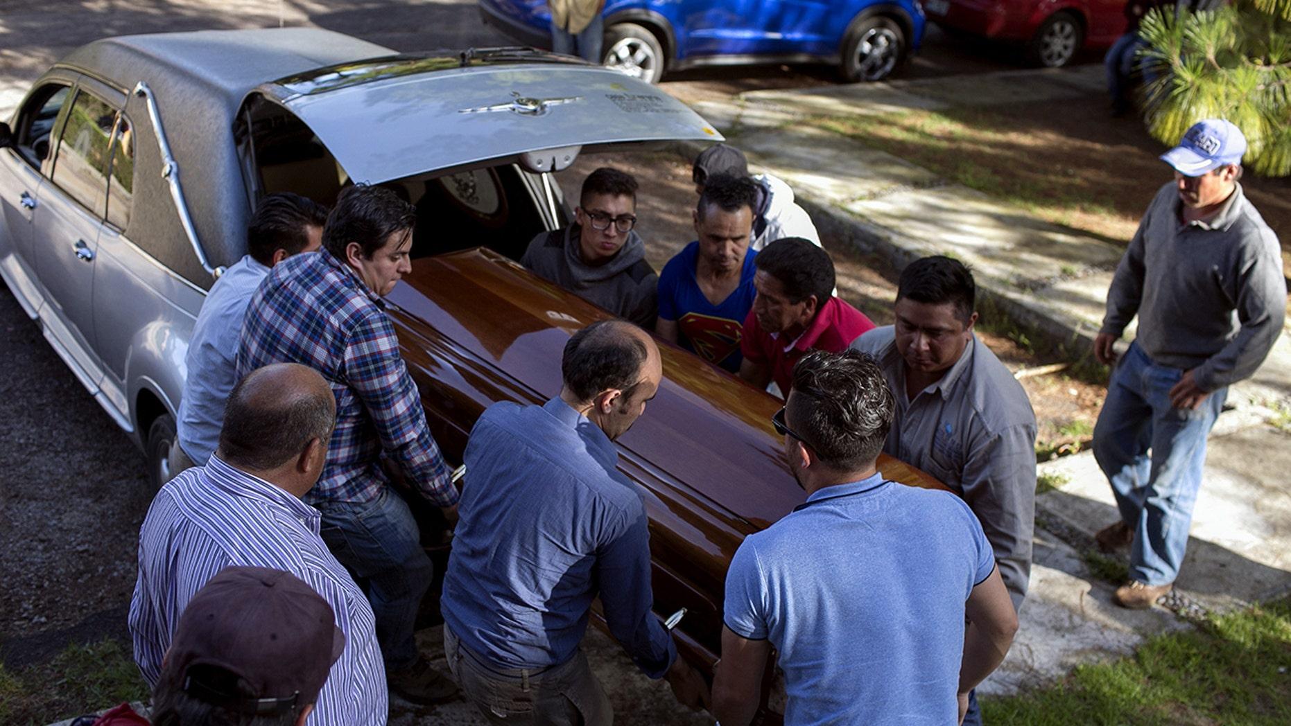 Fernando Angeles Juarez, who was running for mayor of Ocampo, was murdered.