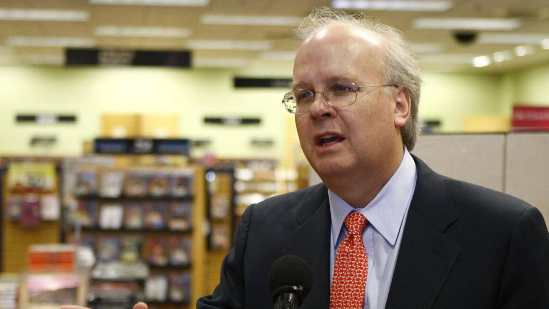 Former Bush Adviser Karl Rove/AP