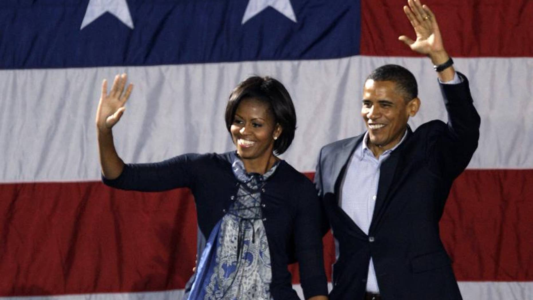 The President and First Lady in Ohio, October 10, 2010/AP