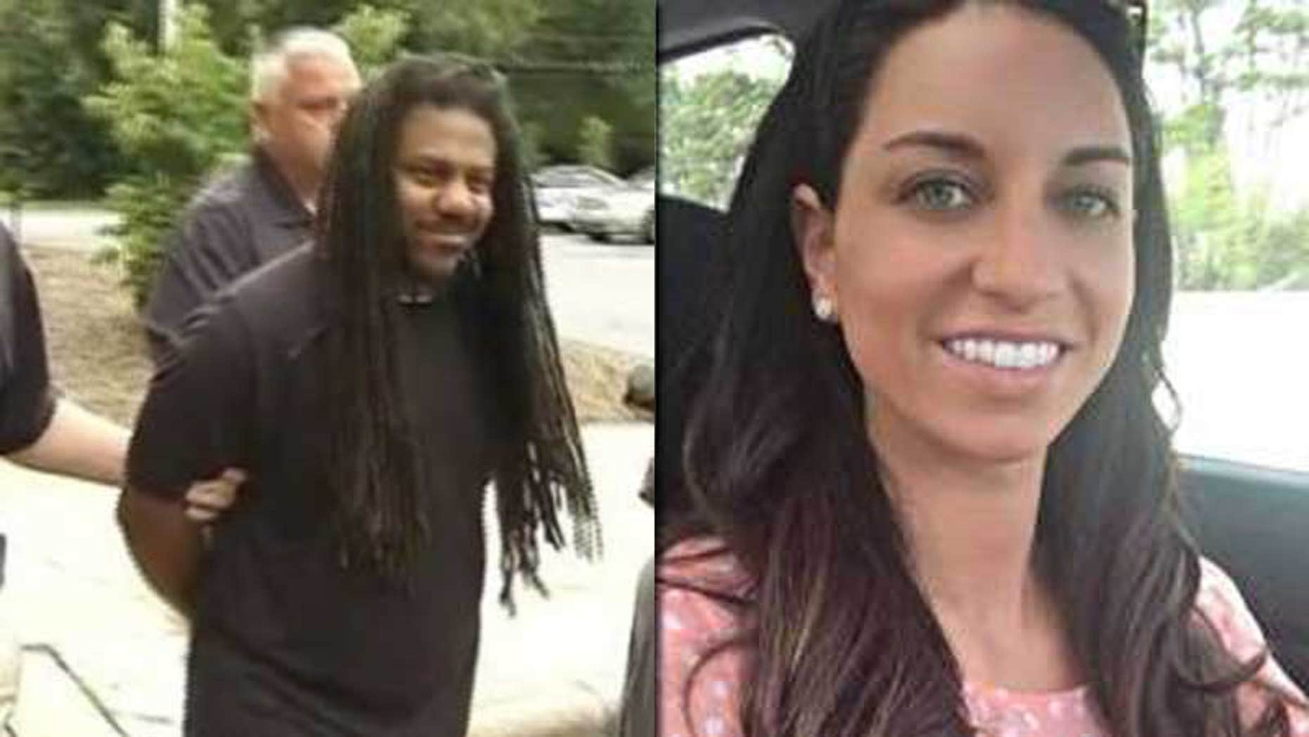 These images, provided by Fox affiliate WGHP, show Sharman Howard Odom, left, and Maggie Daniels, right.