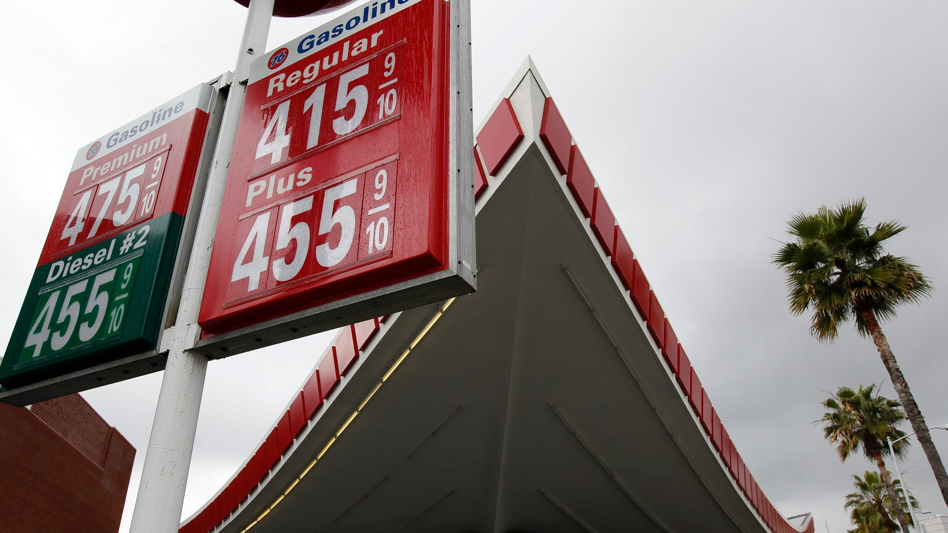 Feb. 25: Gas prices passed $4 a gallon in Beverly Hills, Calif. Oil prices are subsiding after reports  of some Libyan ports reopening to tankers and Saudi Arabia boosting exports.