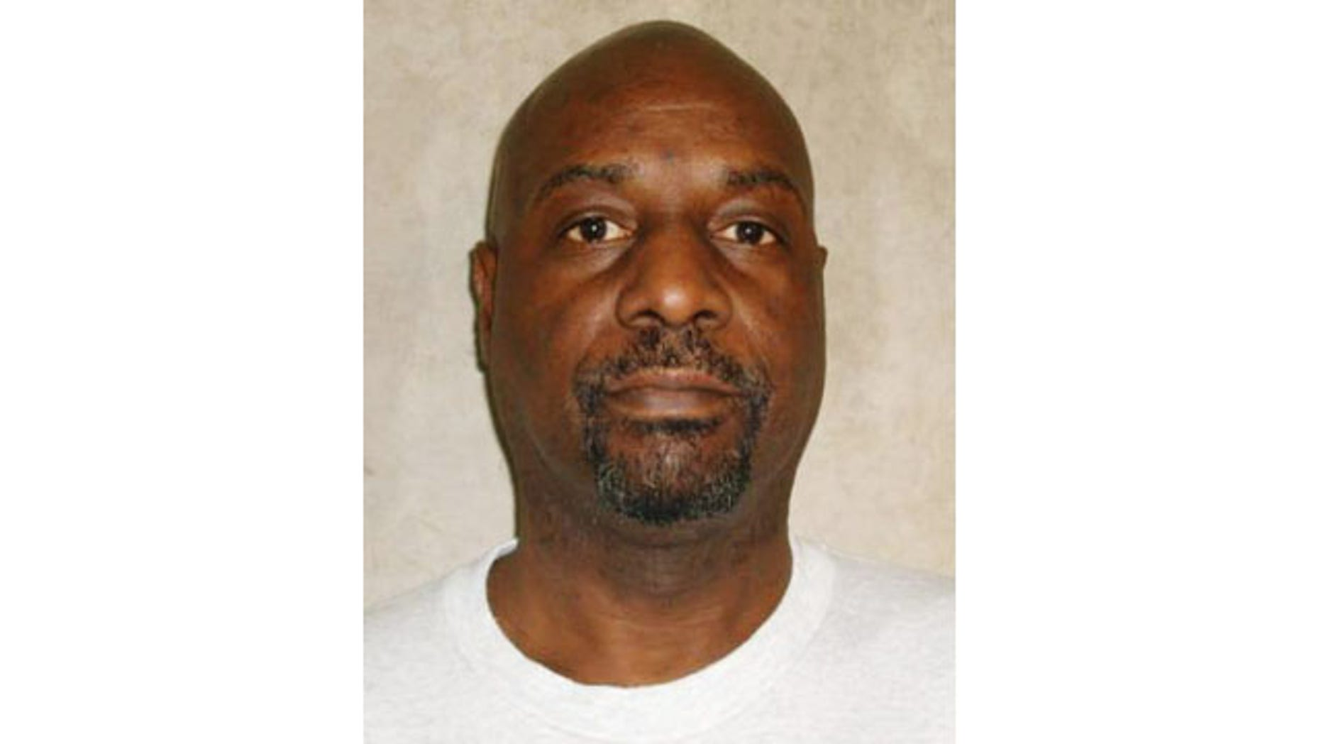 December 10, 2013: This photo provided by the Oklahoma Department of Corrections shows Ronald Clinton Lott, who was executed on Tuesday for killing two elderly women more than a quarter-century ago. (AP Photo/Oklahoma Department of Corrections)