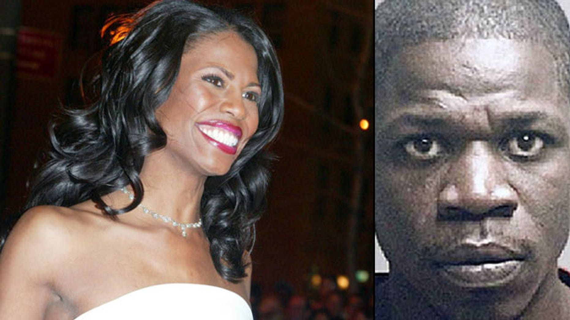 Omarosa and her brother Jack Manigault, who the reality star claimed had turned his life around after getting out of prison (AP)