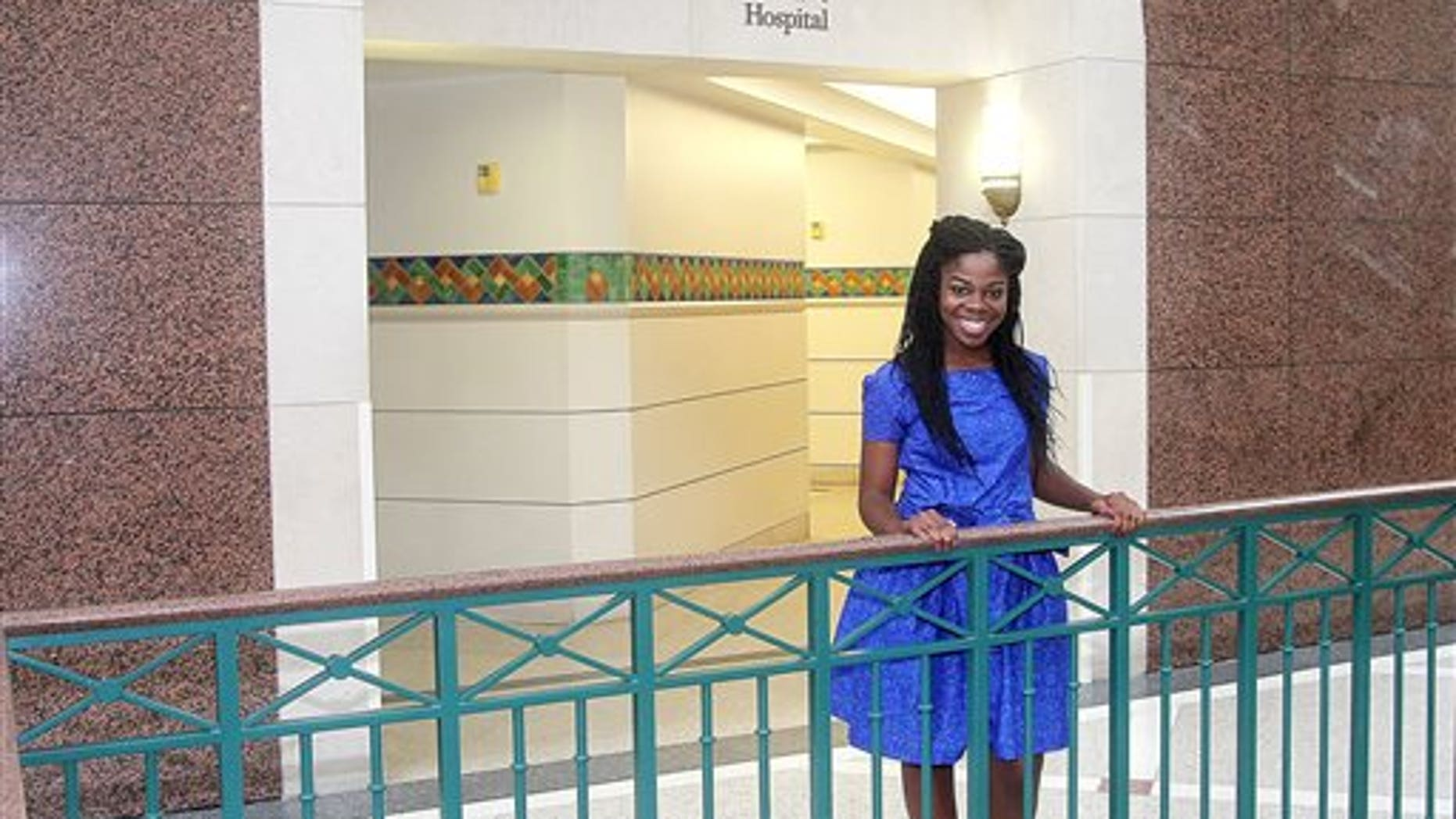"Dr. Fehintola Omidele, known to family and friends as ""FT,"" has been interning at Children's Memorial Hermann Hospital in Houston since earlier this year."