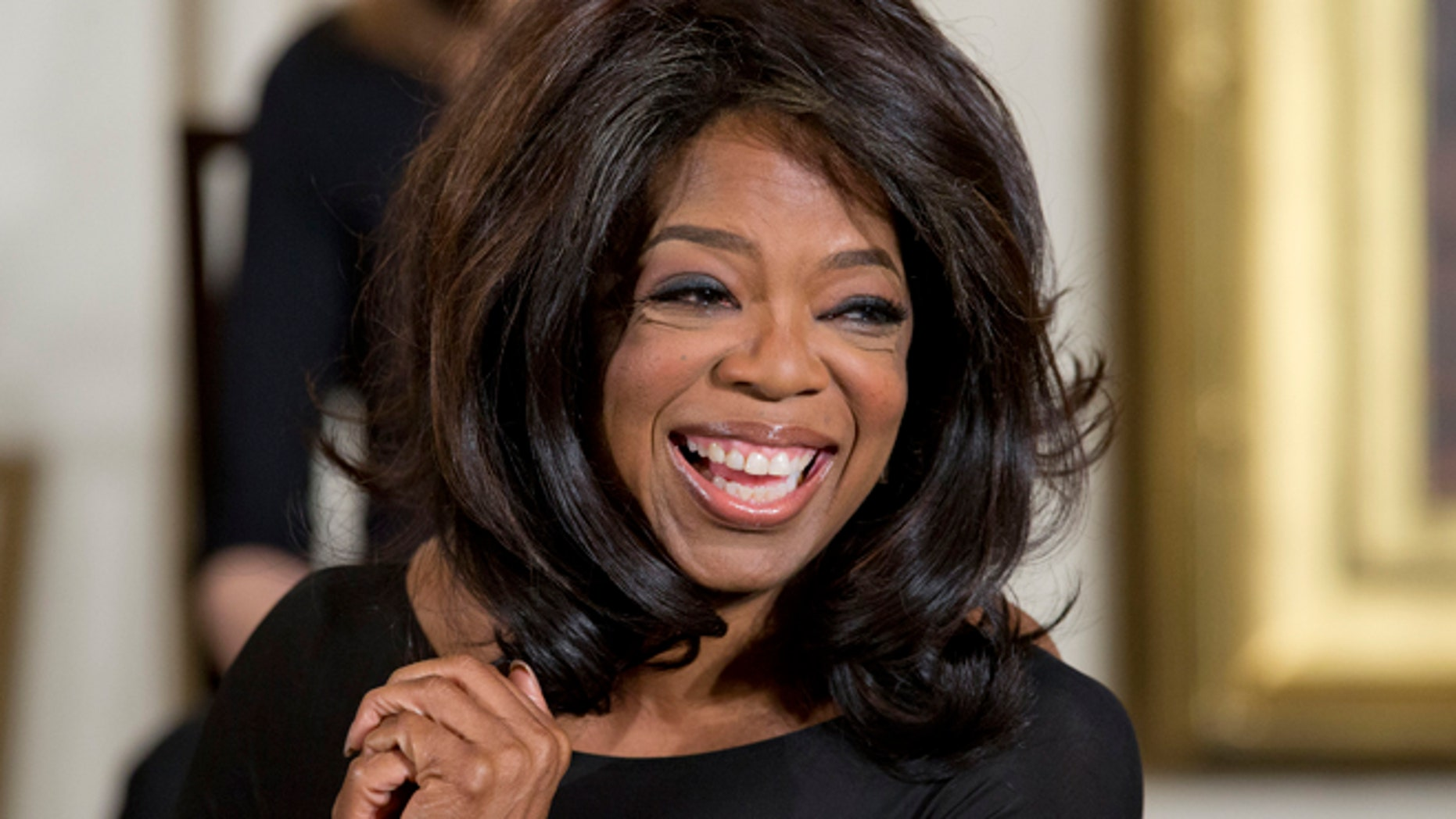 FILE: A man who lives near Oprah Winfrey's new property above Telluride, Colorado, is suing her for allegedly blocking access to hiking trails open to neighbors for decades.
