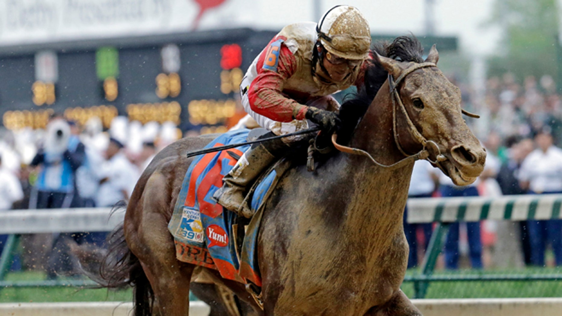 May 4, 2013: Joel Rosario rides Orb during the 139th Kentucky Derby at Churchill Downs in Louisville, Ky.