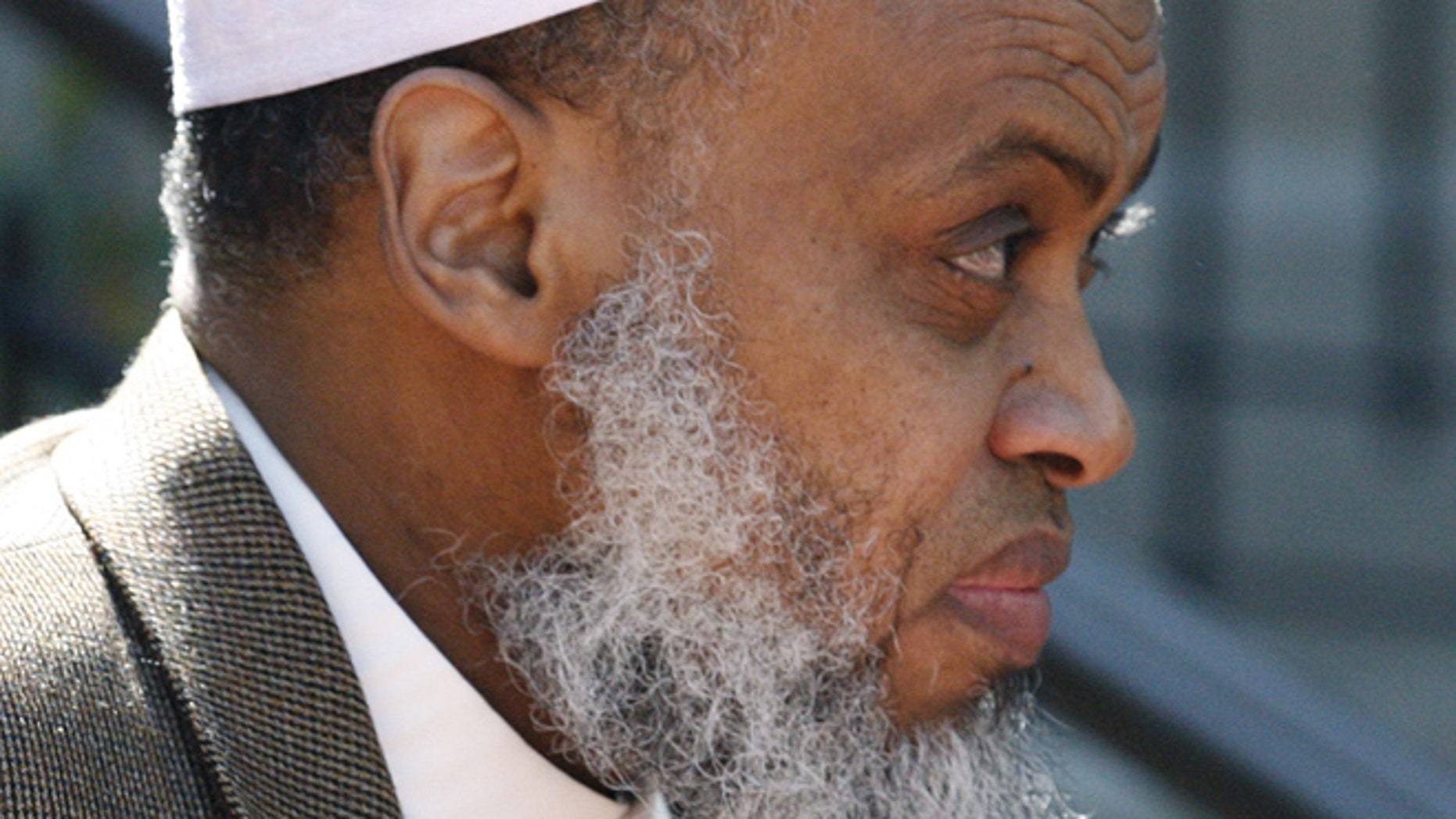 FILE 2012: Portland Imam Mohamed Sheikh Abdirahman Kariye leaves the United Sates Court of Appeals following oral arguments on the ACLU No Fly List challenge, in Portland, Ore.