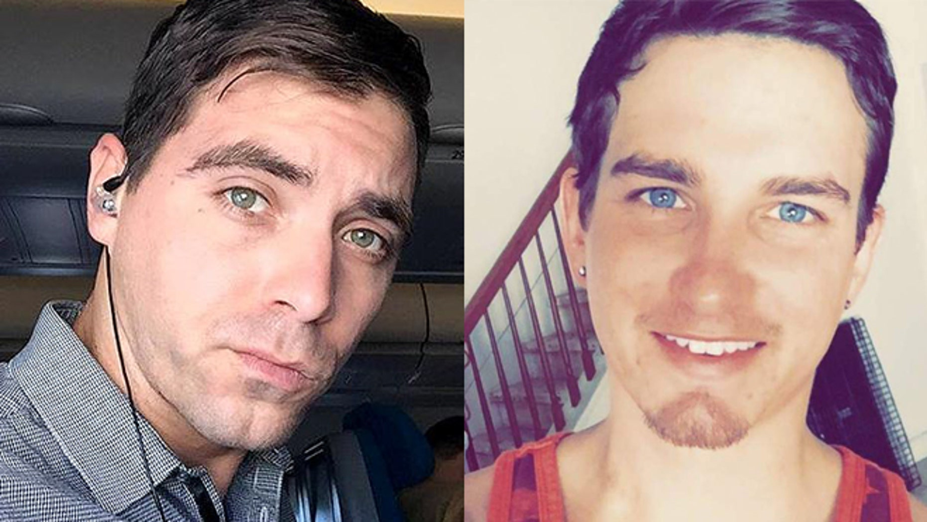 Edward Sotomayor Jr. (left) and Joshua McGill, two heroes of the Pulse Orlando massacre who suffered different fates. (Photos: via Facebook)