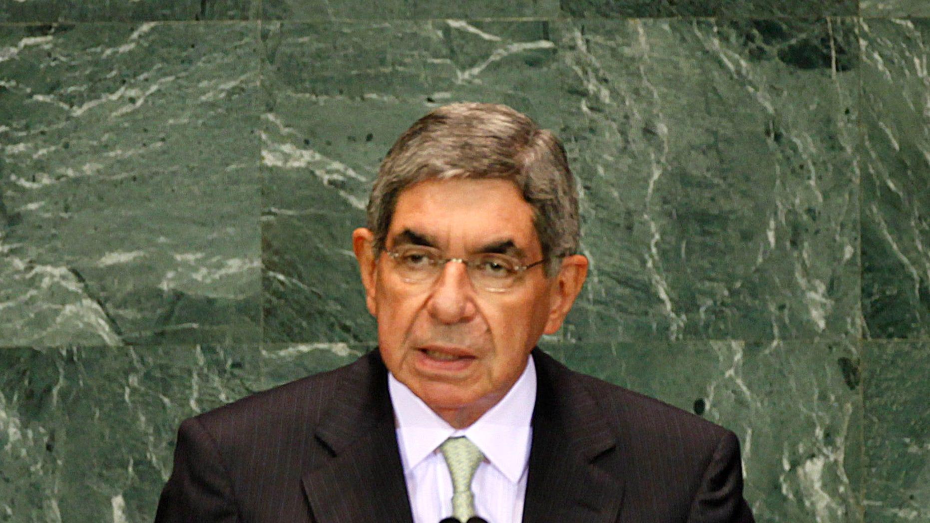 Costa Rica ex-President Óscar Arias faces sex claim