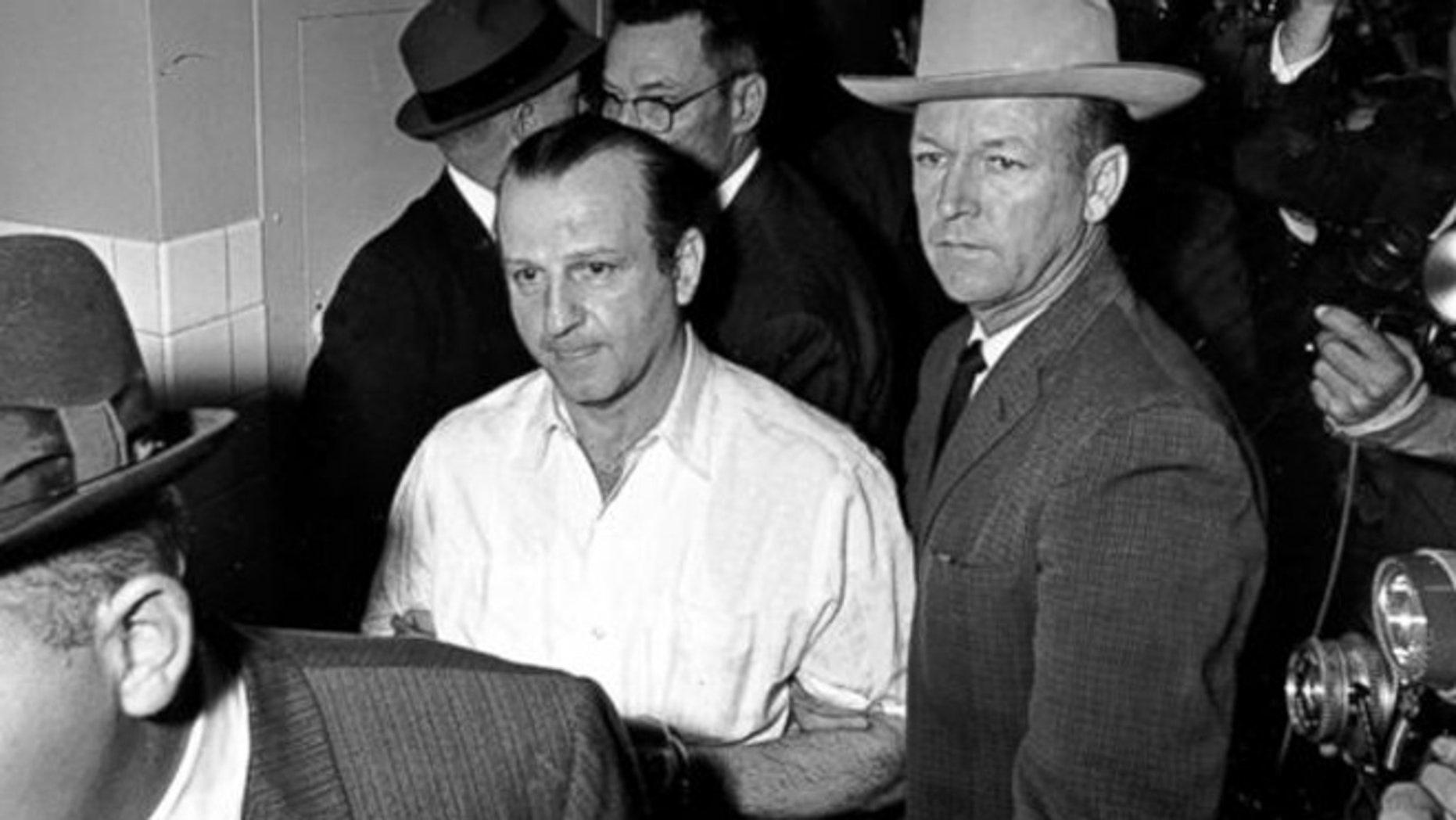 FILE: Nov. 23, 1963: Lee Harvey Oswald, Dallas, Texas.