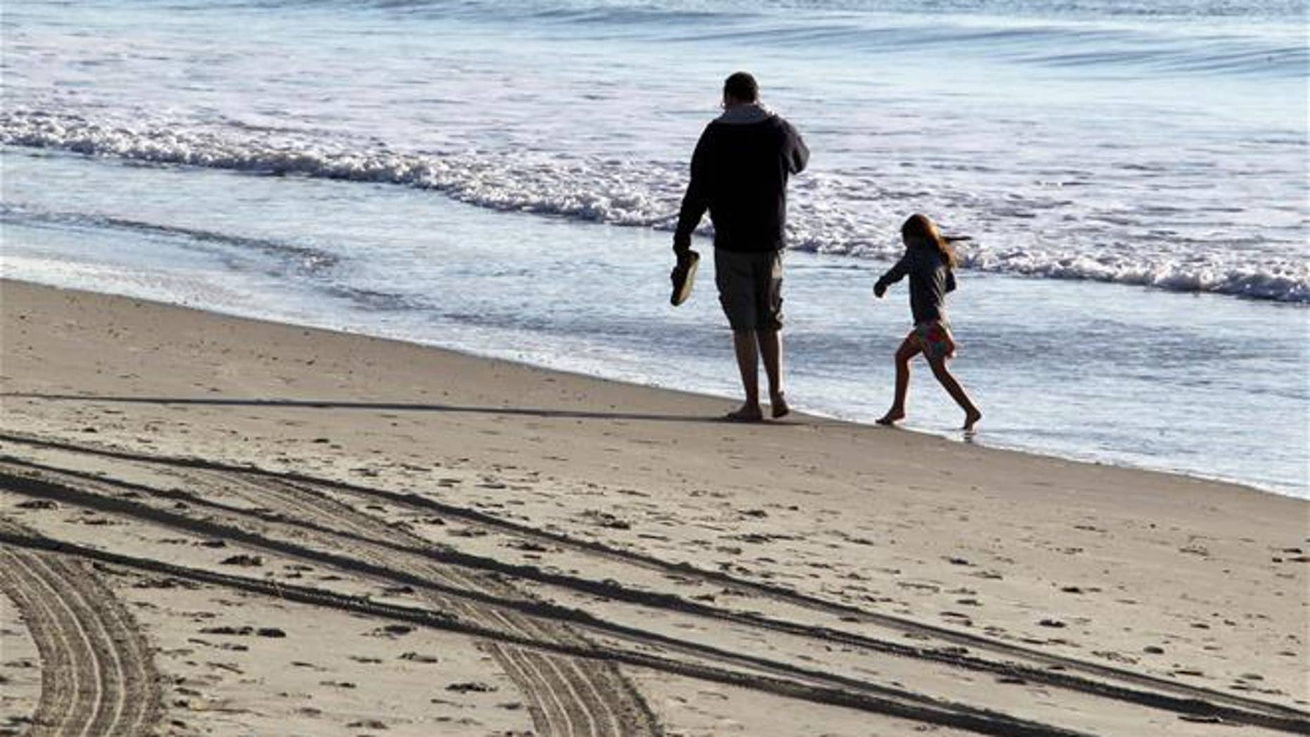 """Myrtle Beach, South Carolina. Researchers say the words for """"sand"""" tend to contain the sound """"s"""" in many languages."""