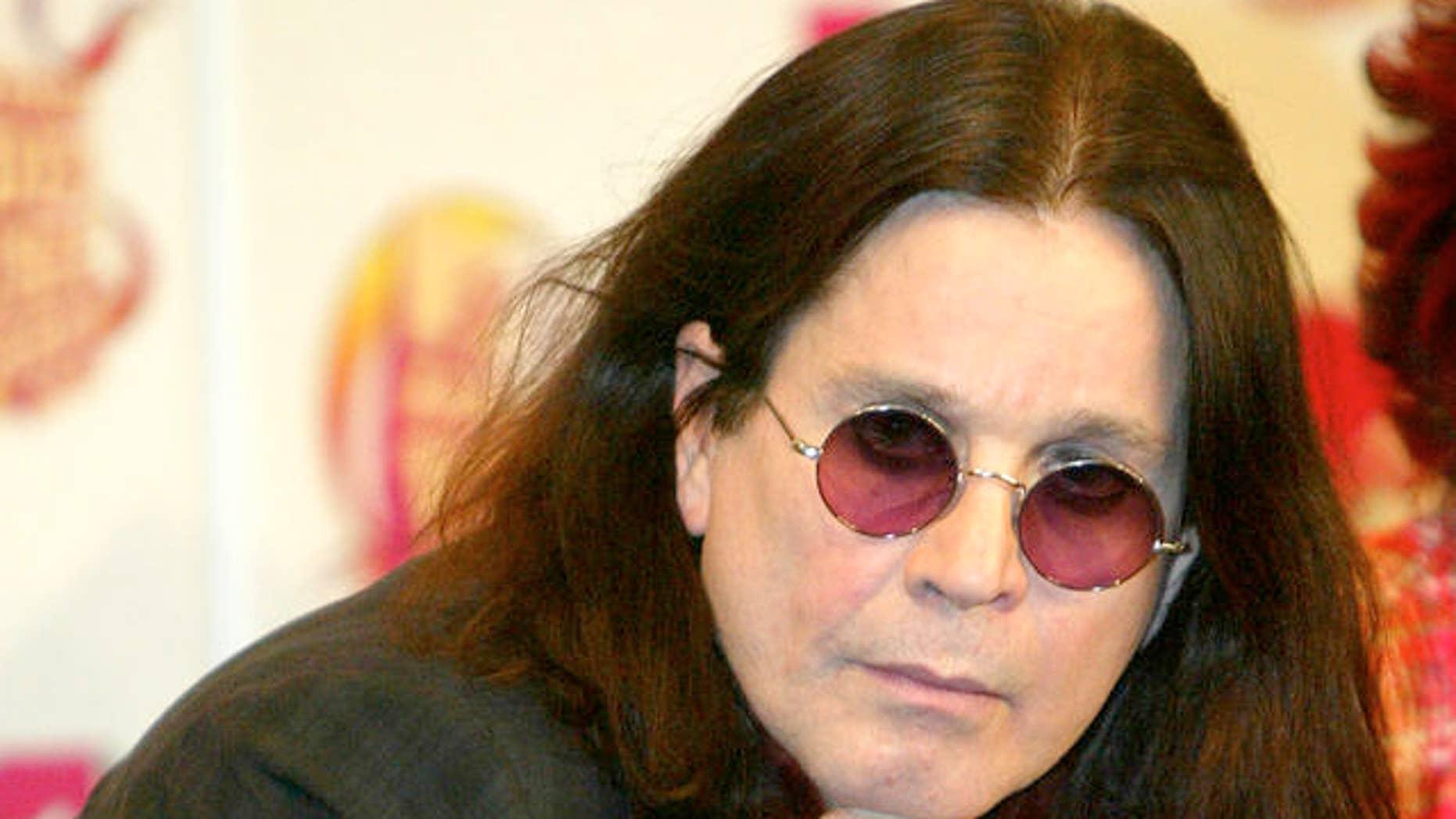 Ozzy Osbourne (AP)
