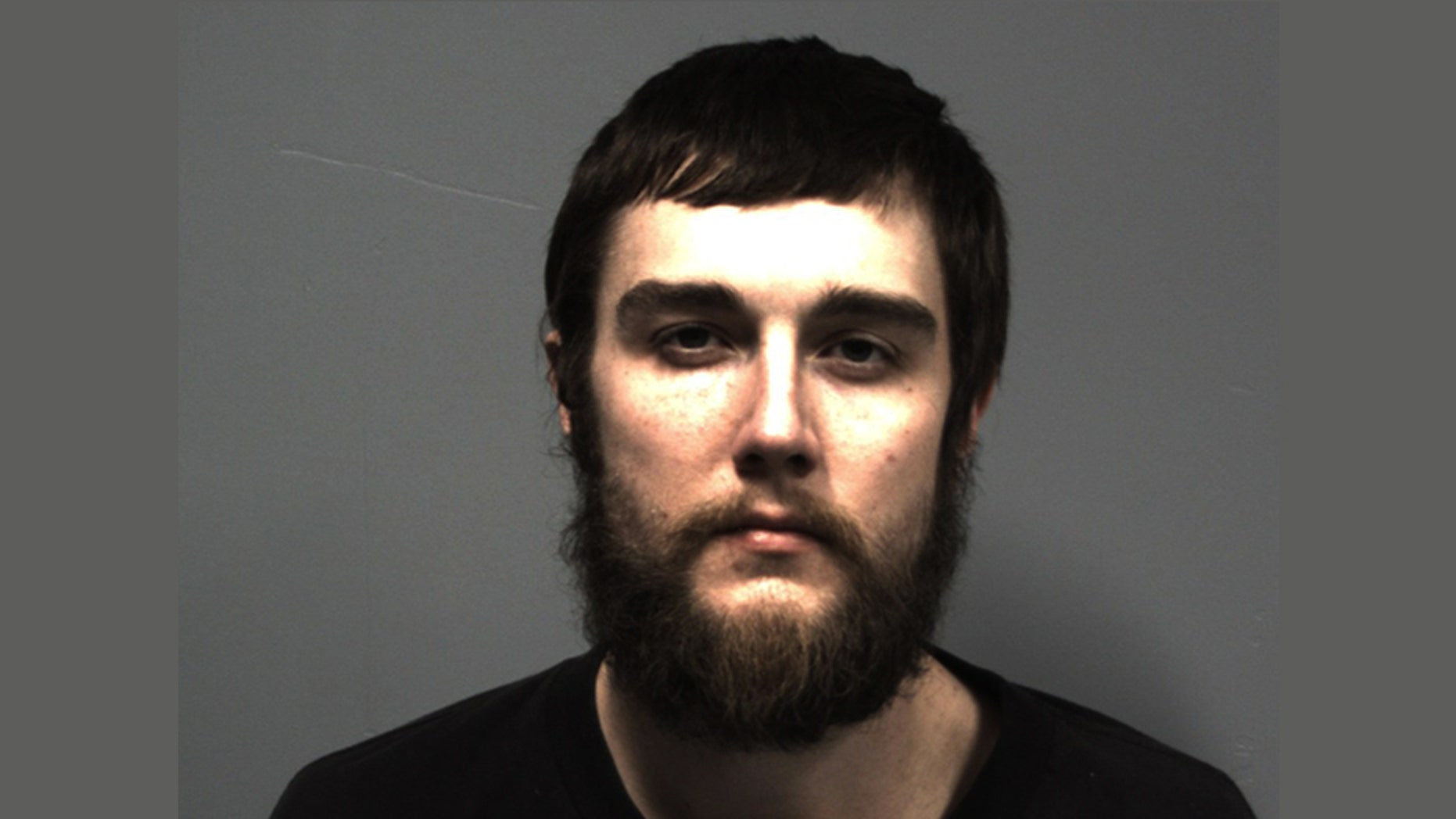 Patrick Laubenstein, 27, was charged with abuse/ neglect of an elderly person and failure to stop for police after officials say he allegedly tried to take money from his grandmother's bank account, ultimately leading to a police chase.