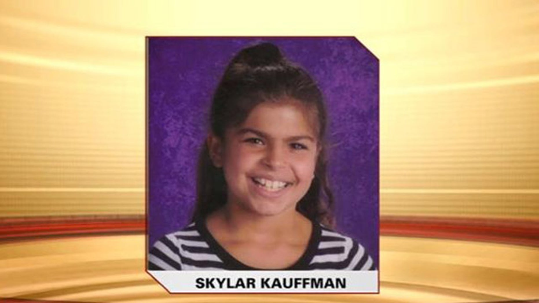 Police issued an Amber Alert for 9-year-old Skylar Kauffman, of Souderton, Pa., when she failed to return home for dinner Monday night. Her body was discovered a few hours later in a nearby trash bin, authorities said (MyFoxPhilly.com).