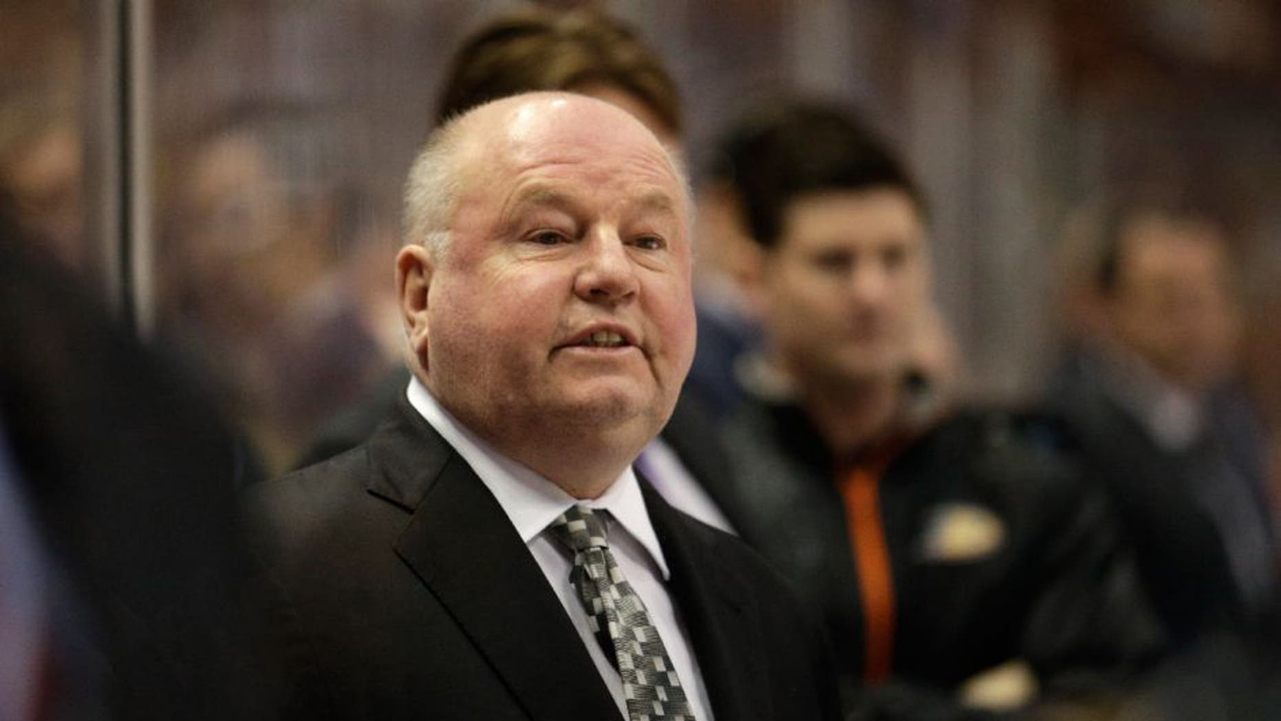 The Minnesota Wild have hired former Anaheim Ducks coach Bruce Boudreau.