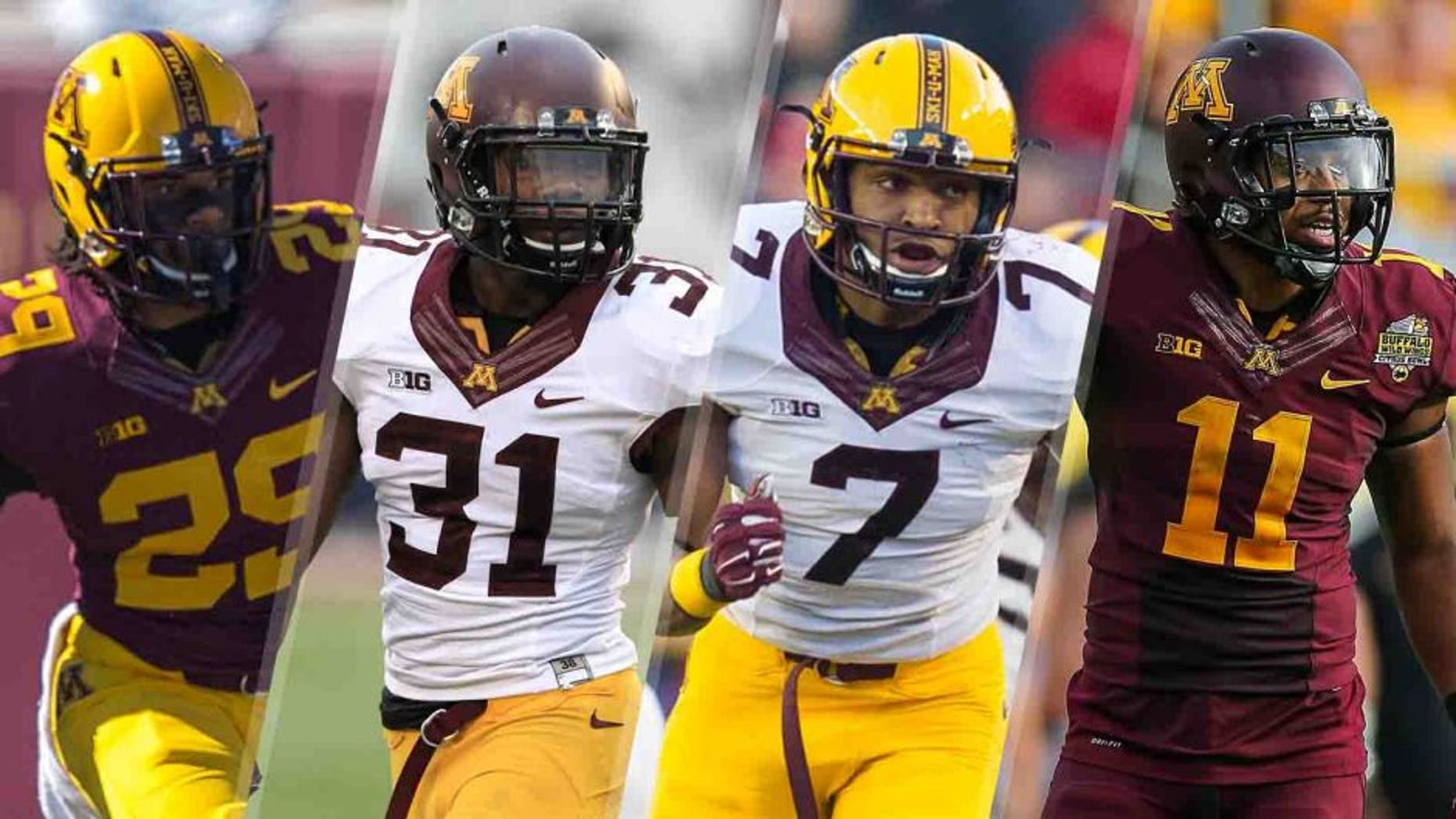 The Gophers have a group of legitimate NFL prospects manning the four defensive back positions: cornerbacks Briean Boddy-Calhoun and Eric Murray and safeties Damarius Travis and Antonio Johnson.