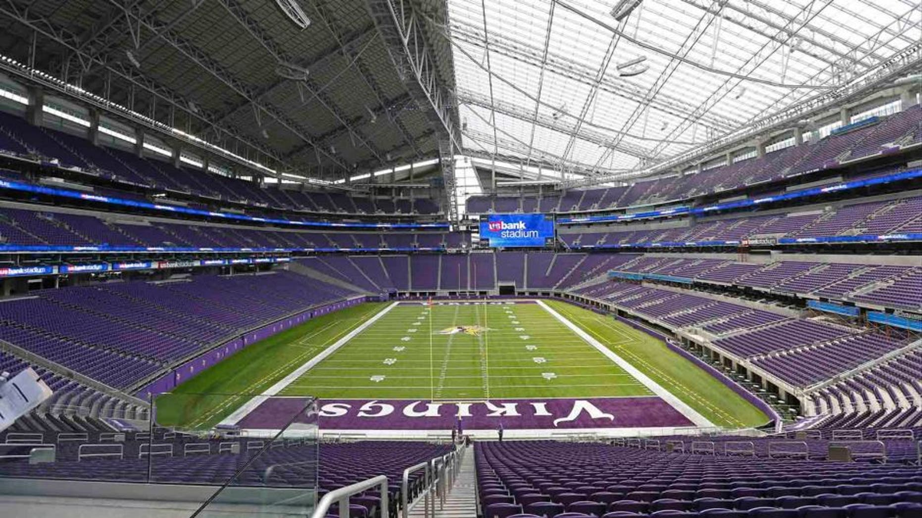 Construction on U.S. Bank Stadium ultimately cost nearly $1.1 billion.