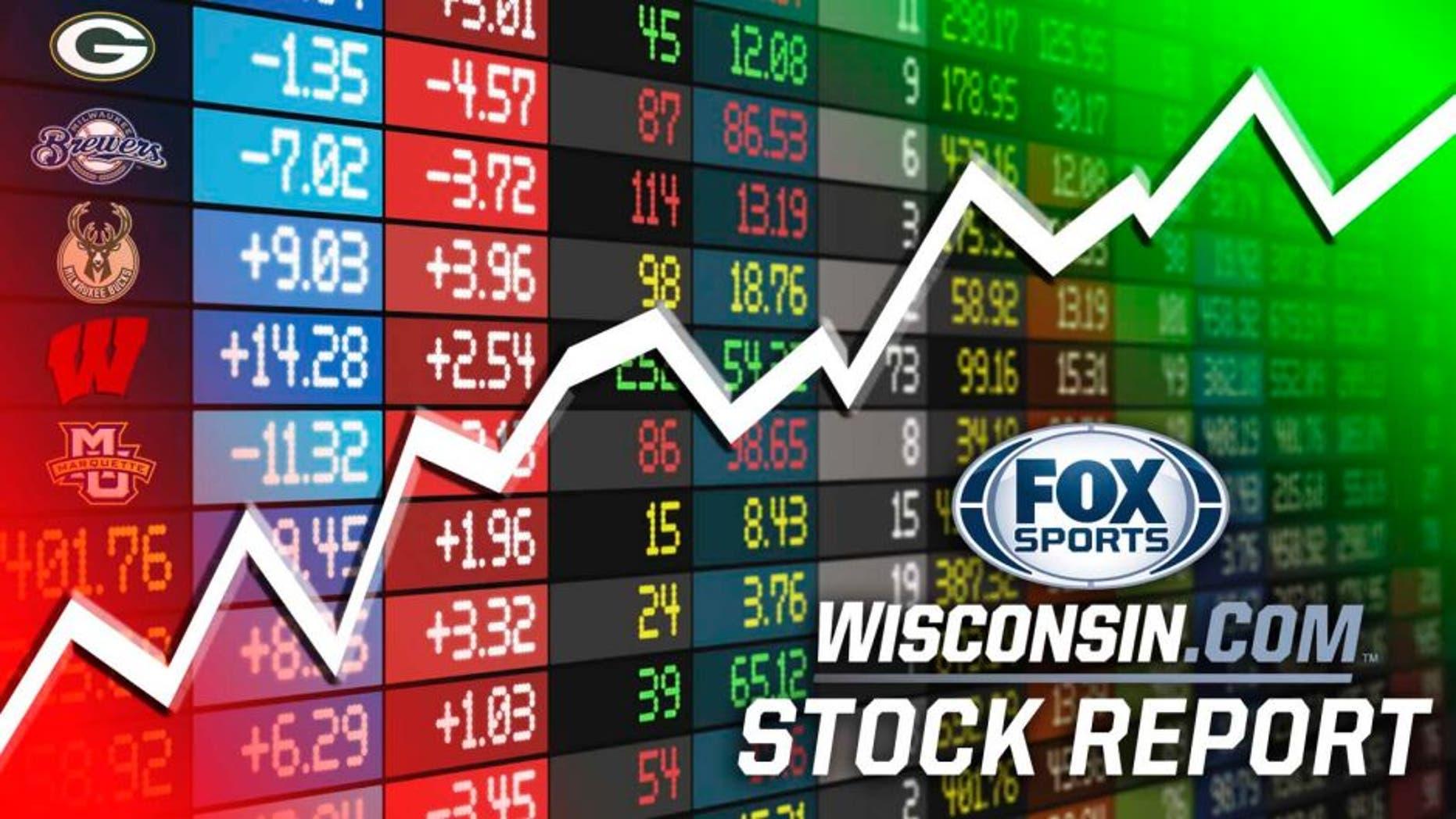 Stock exchange market business concept