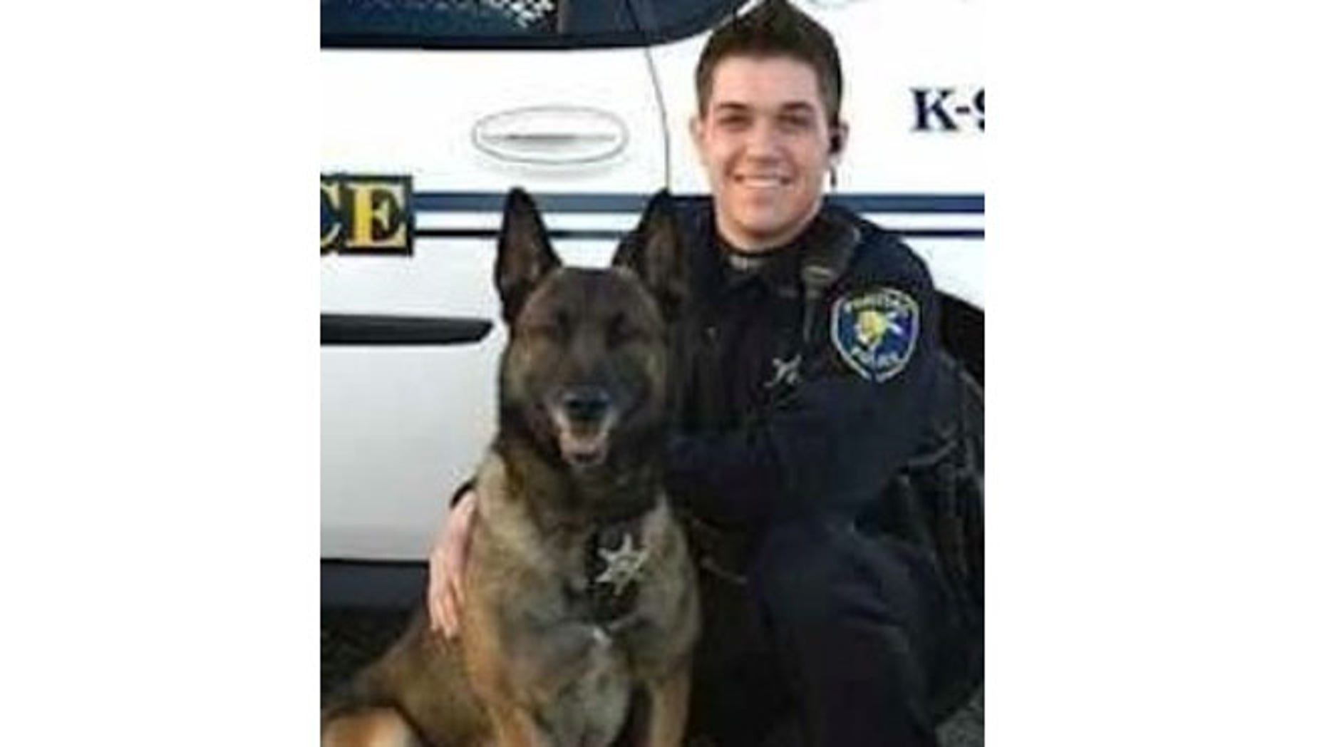 Pontiac police Officer Casey J. Kohlmeier and his K-9 partner Draco were killed in a car accident.