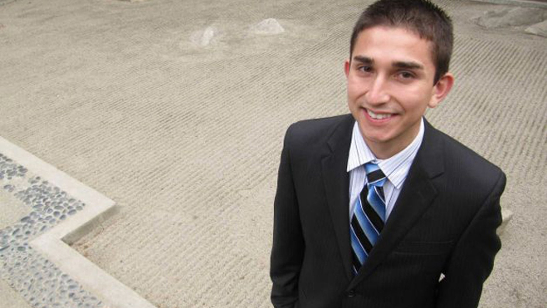 In this April 6, 2012 photo, Pablo Gonzalez poses for a photograph at Central Washington University in Ellensburg, Wash. (Photo: Shannon Dininny / AP)