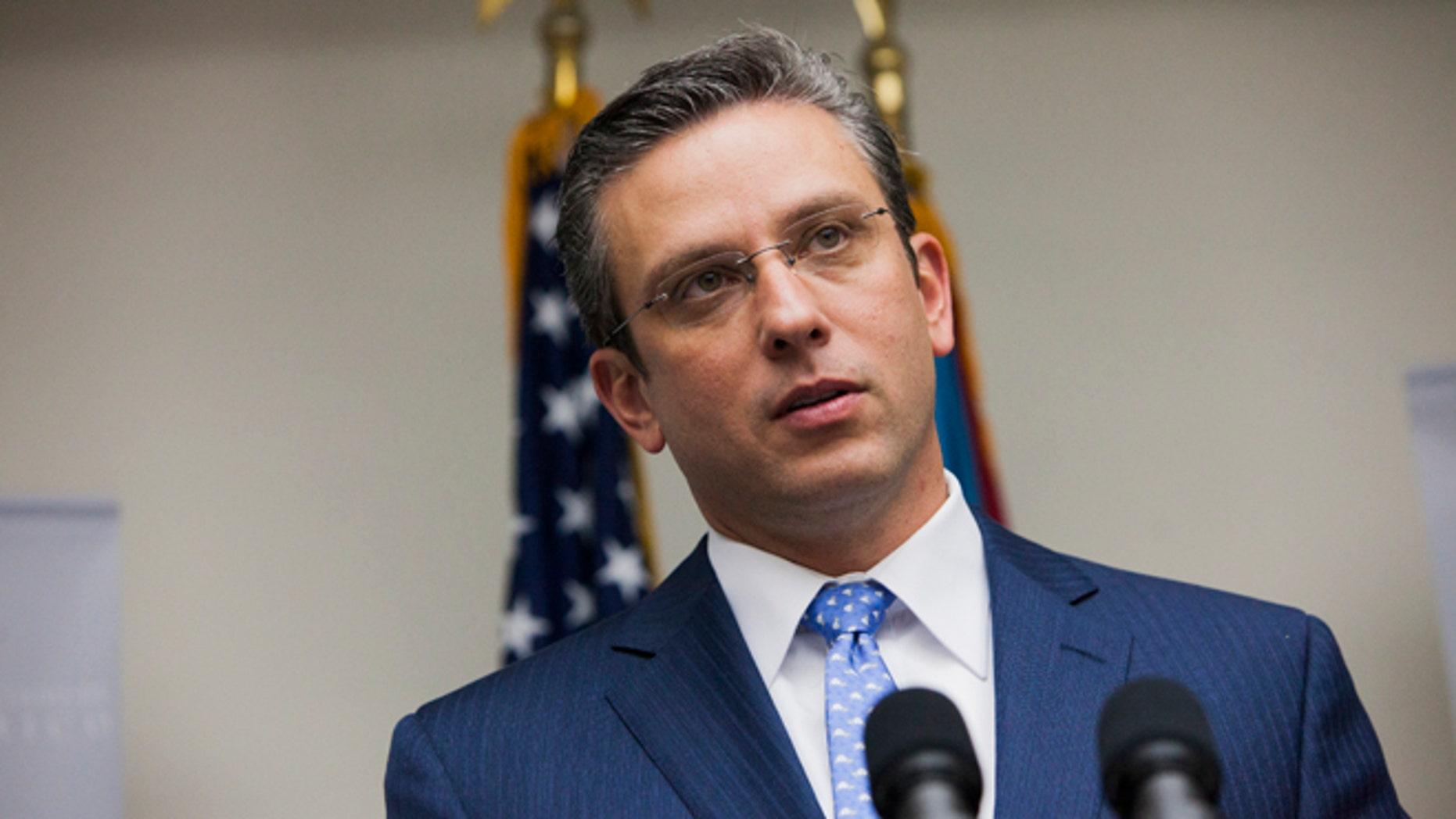 Governor Alejandro Garca Padilla on November 14, 2013 in San Juan, Puerto Rico.