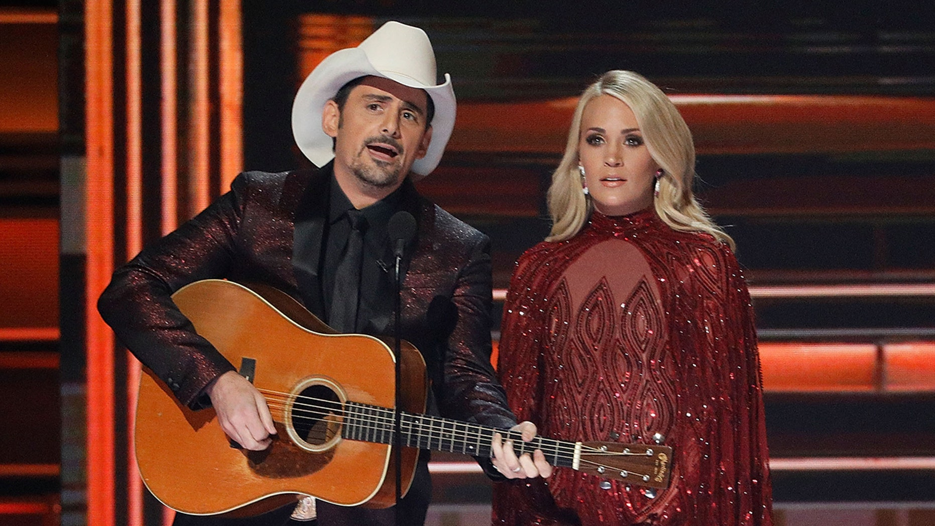 Brad Paisley and Carrie Underwood will host the CMA Awards for the 11th year in a row in November.