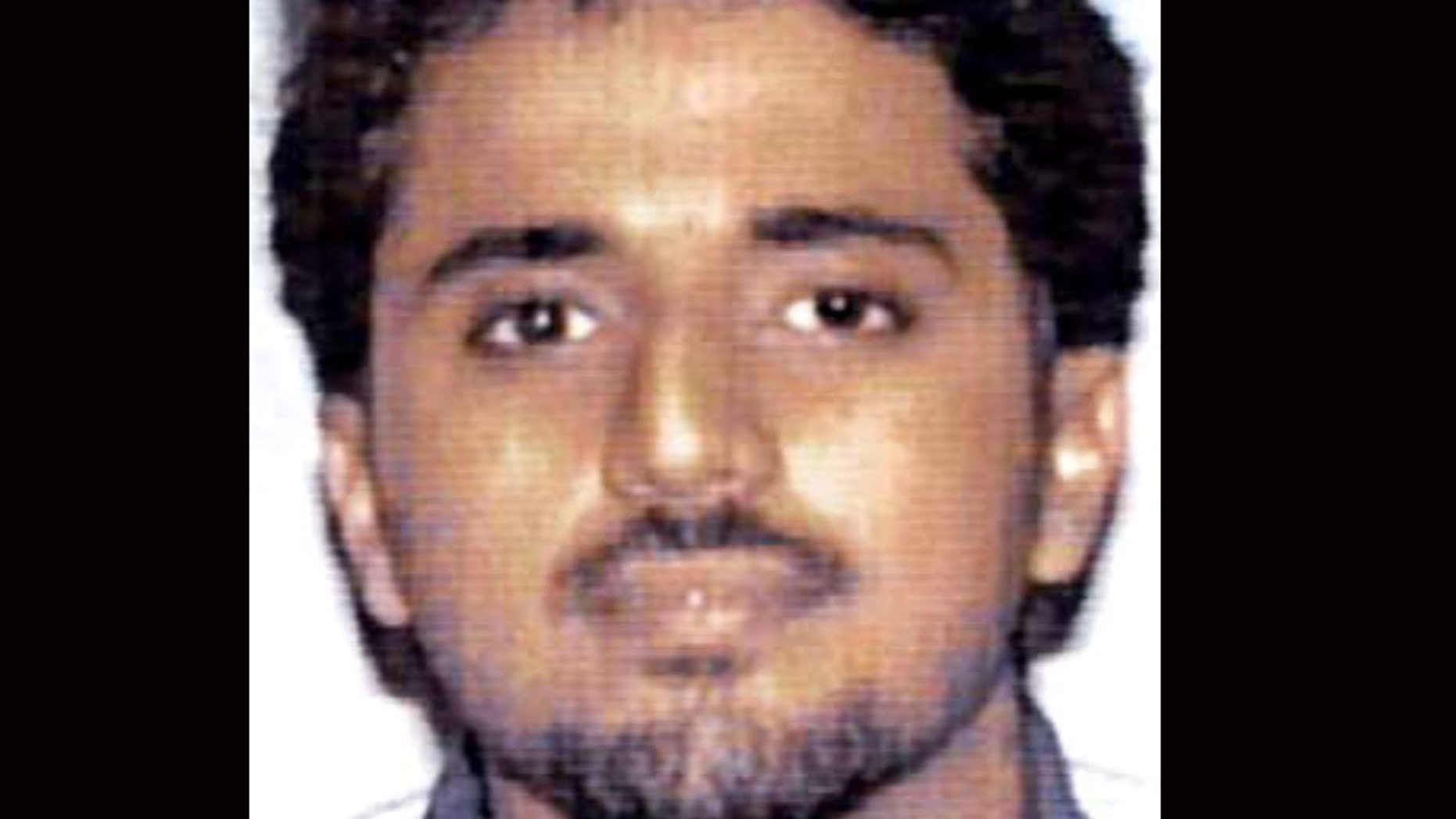 This undated handout file photo provided by the FBI shows Adnan Shukrijumah.