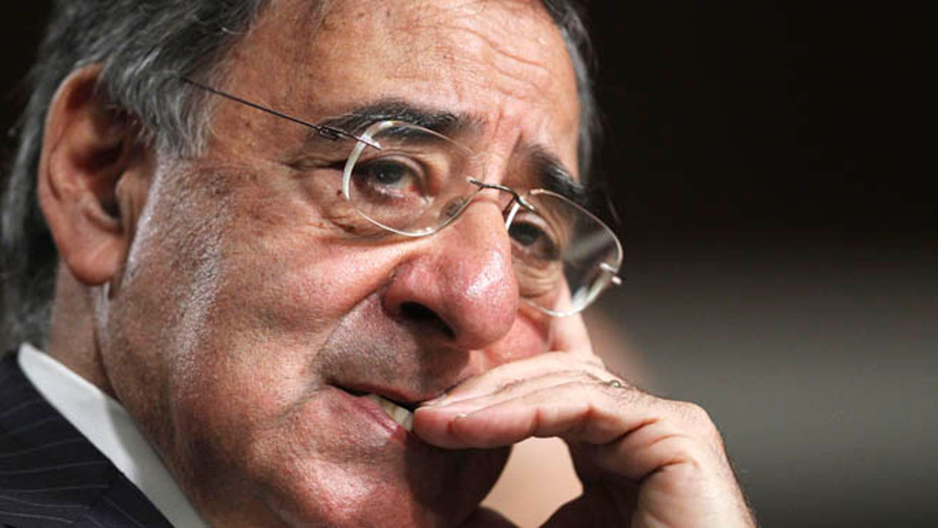 FILE - In this June 9, 2011 file photo, then-CIA Director nominee Leon Panetta  testifies on Capitol Hill in Washington.