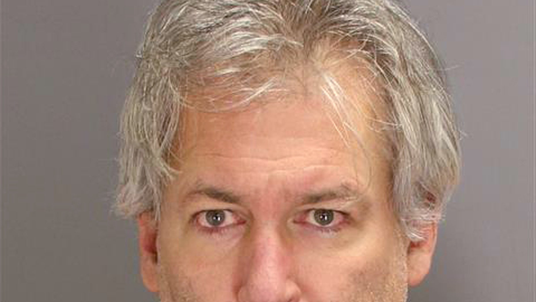 This undated booking photo released by the Oakland County Sheriff's Department shows Jeffrey B. Maurer. A Rochester Hills, Mich., district judge ruled Tuesday, Feb. 10, 2015 that there's enough evidence to try the 53-year-old Maurer in Oakland County Circuit Court on first-degree murder charges in the beating deaths of his 87-year-old father and 85-year-old mother.  (AP Photo/Oakland County Sheriffs Department)