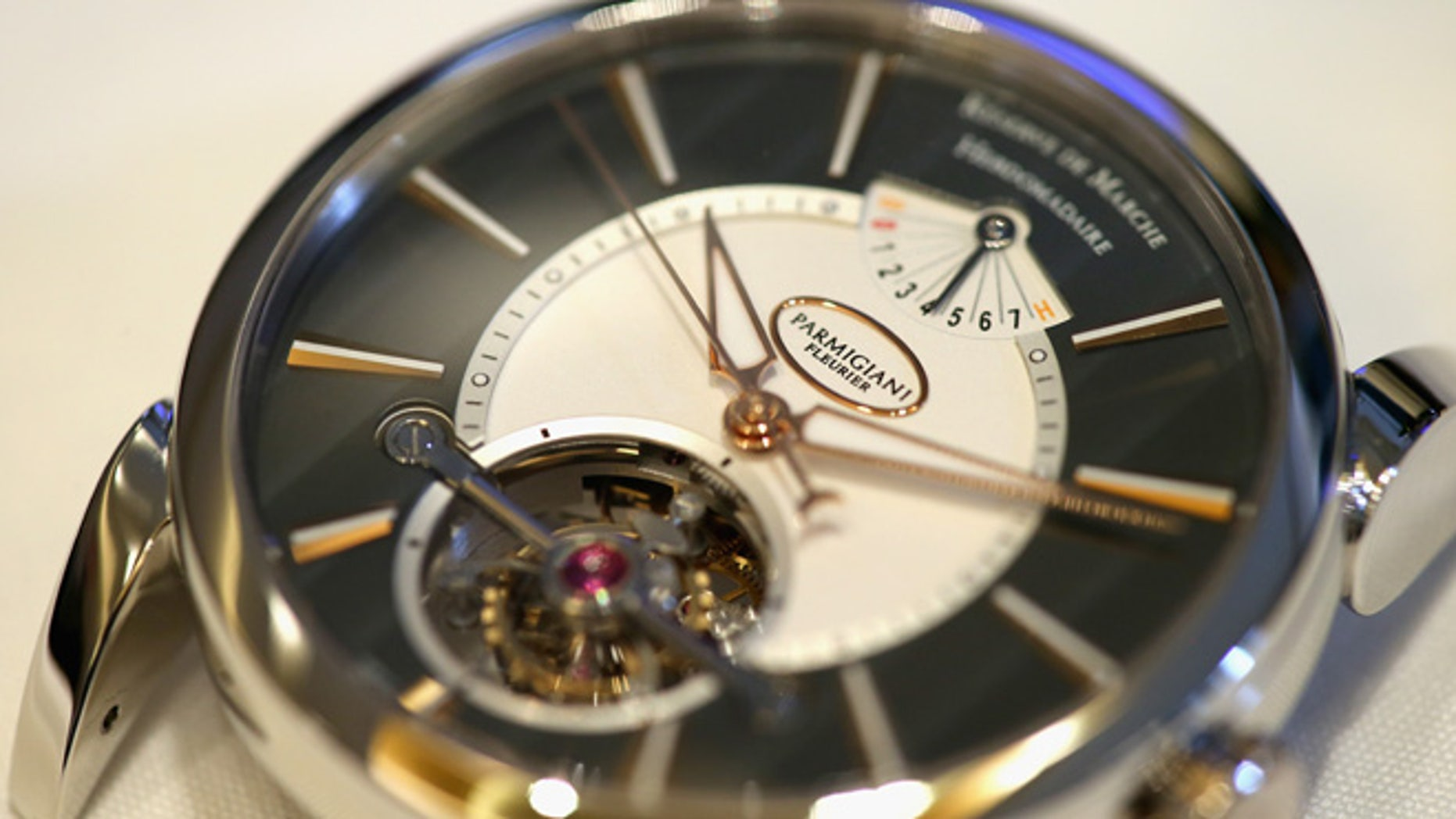 LONDON, ENGLAND - APRIL 27:  Behind the scenes at Luxury watchmaker Parmigiani Fleurier on April 27, 2015 in London, England.  (Photo by Chris Jackson/Getty Images)