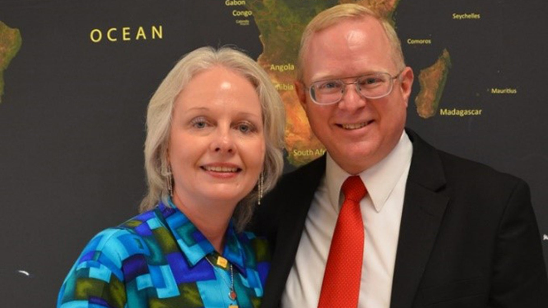Christian pastor Donald Ossewaarde, seen here with his wife Ruth, was one of the first American citizens to be charged under anti-religious provisions of Russia's new anti-terror laws.