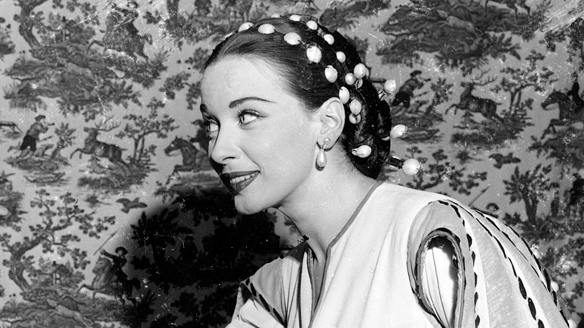 Patricia Morison, pictured here in 1949, starred in films alongside Spencer Tracy and Katharine Hepburn.