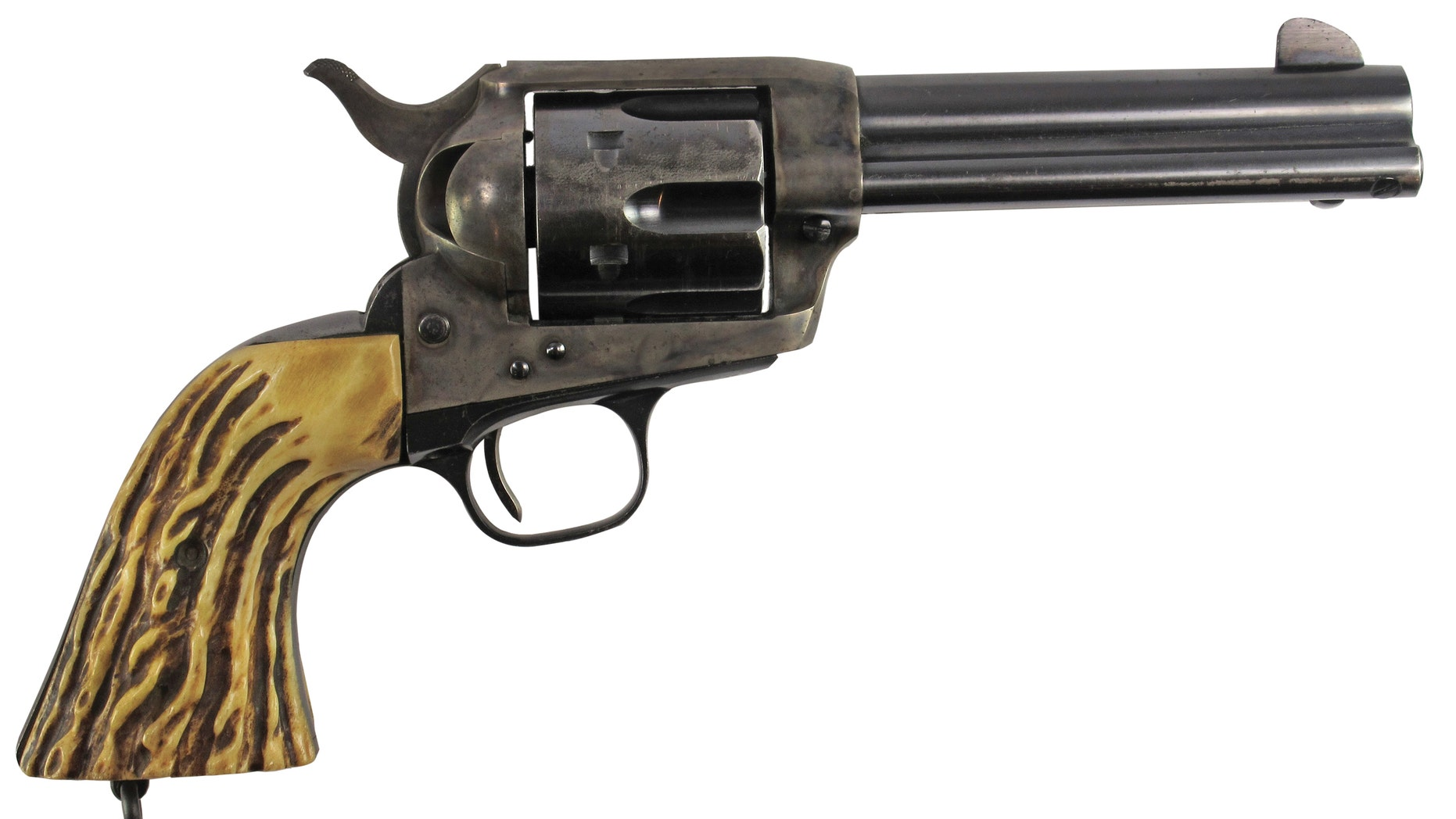 A Colt. 45 revolver owned by General George Patton sold for $75,000 at auction.