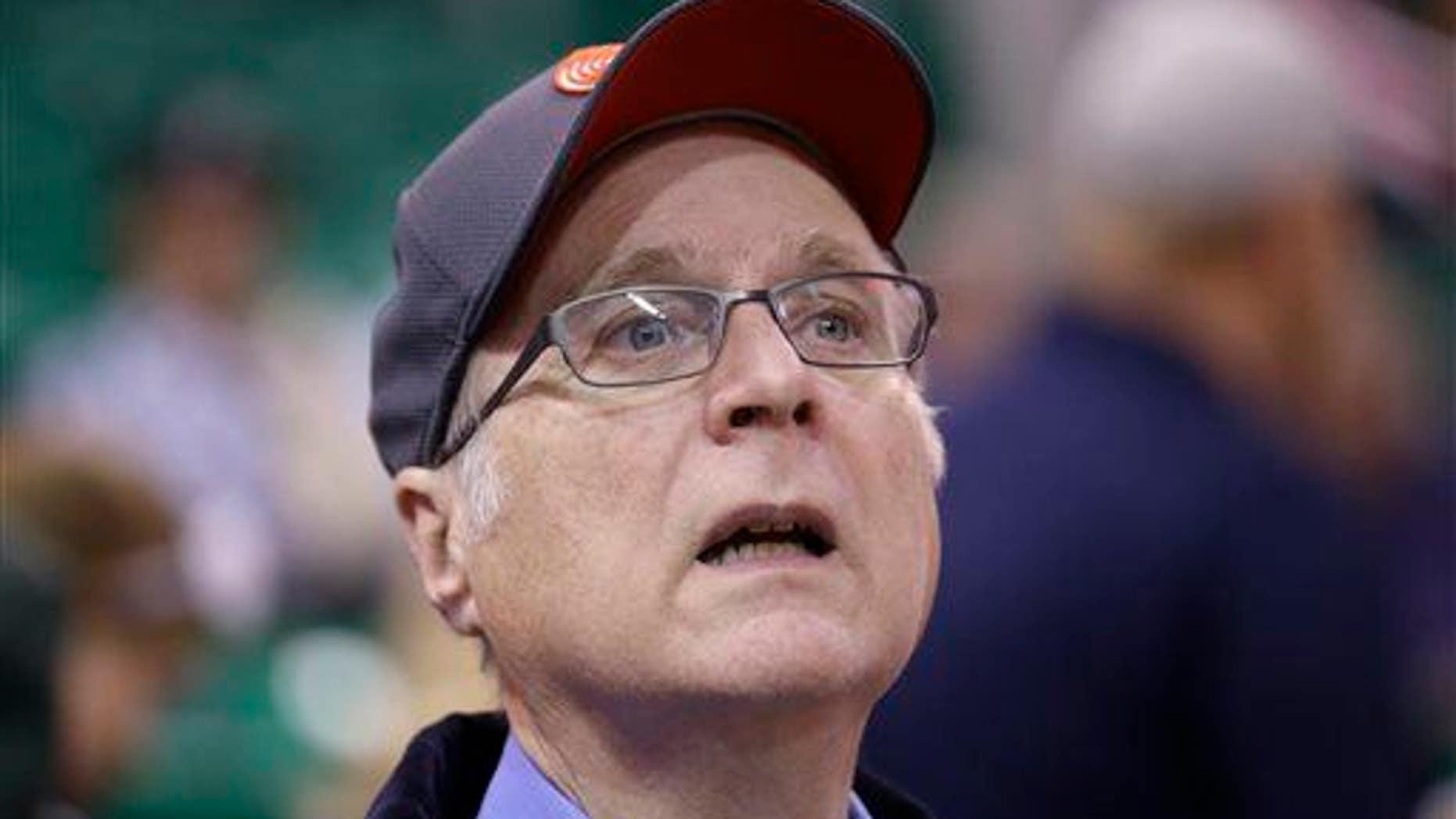 Former Microsoft executive Paul Allen.